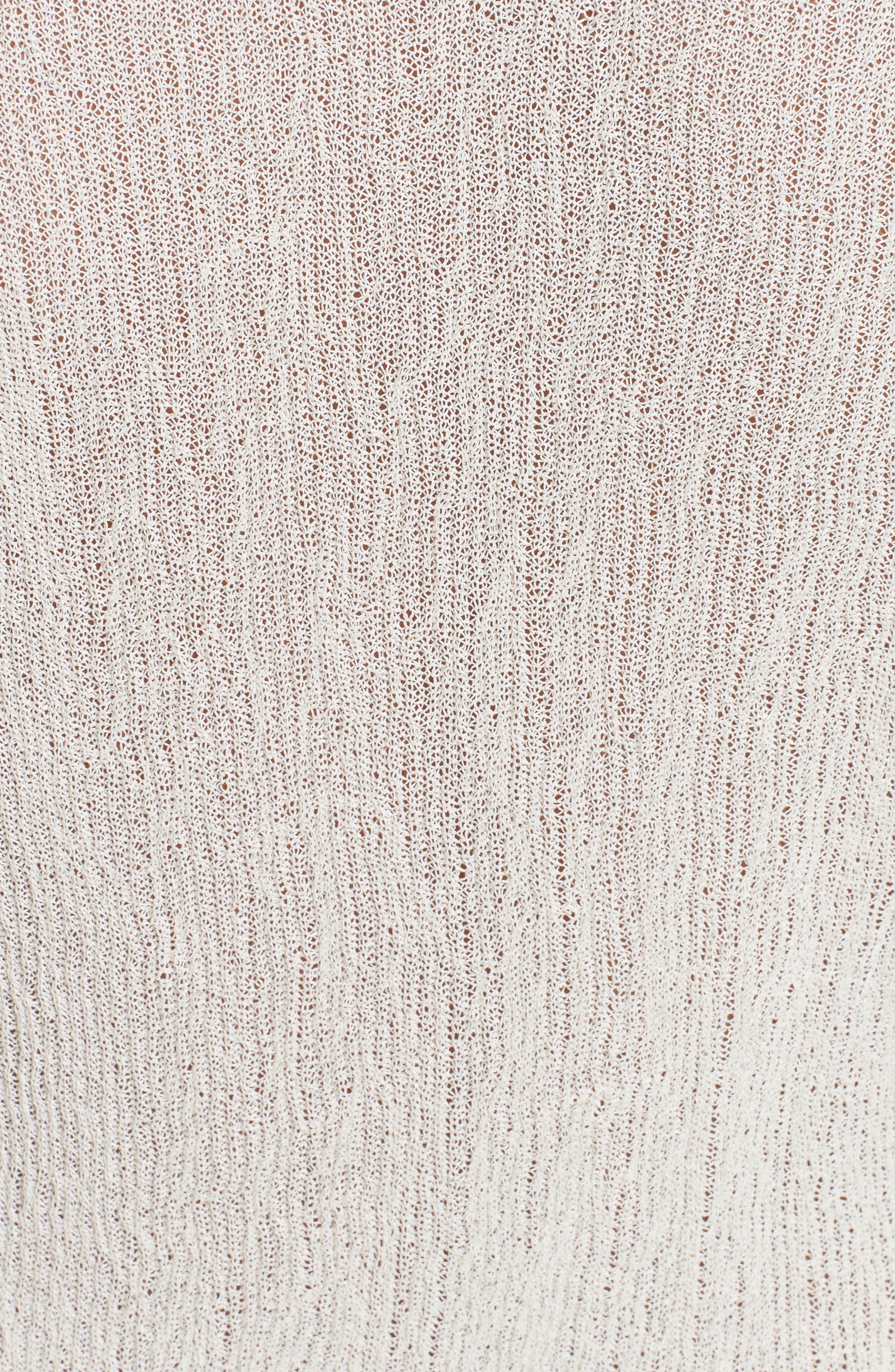 Alternate Image 6  - Helmut Lang Drawstring Crepe Pullover