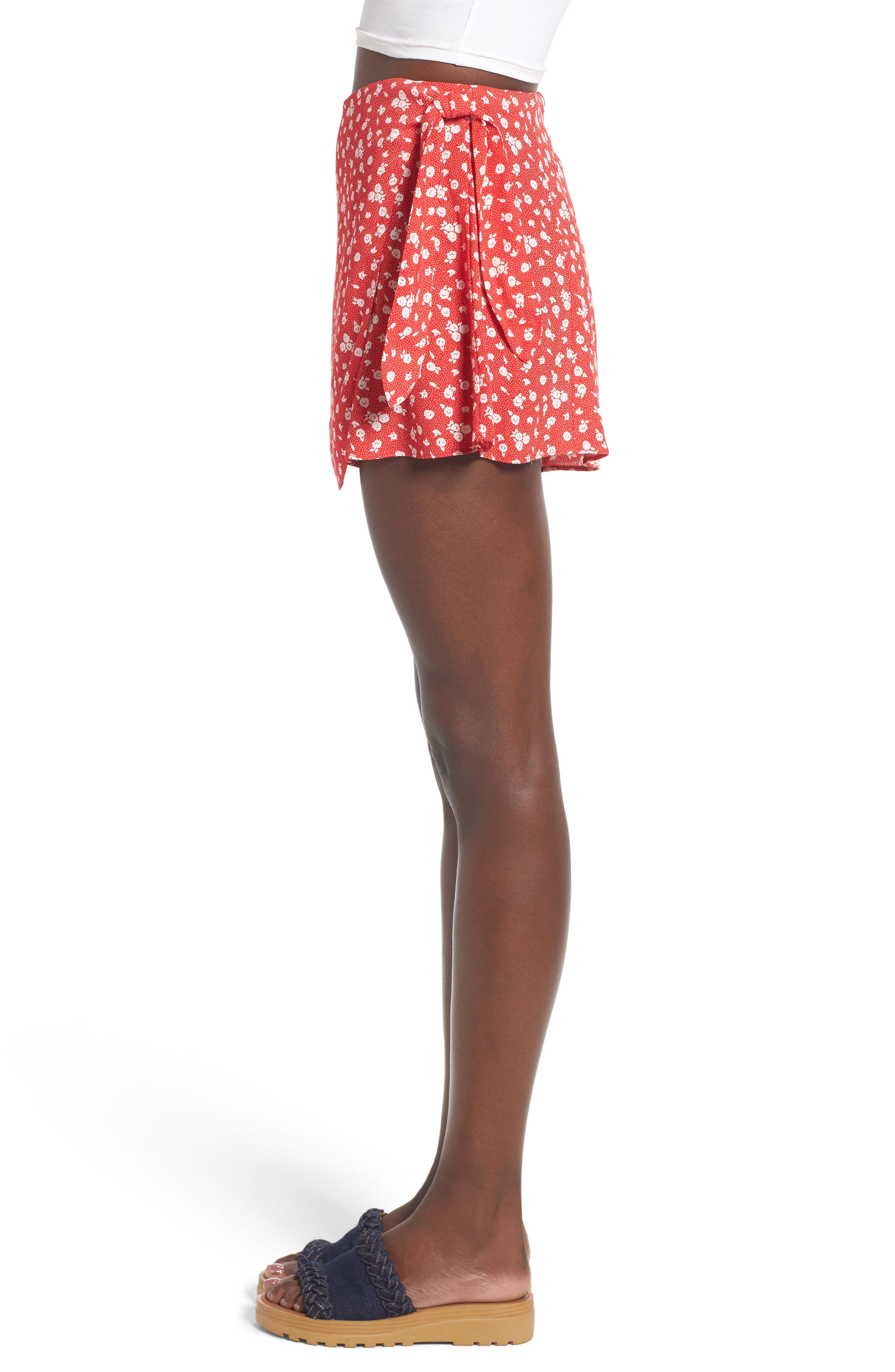 Alternate Image 4  - Privacy Please Emory High Waist Wrap Skort