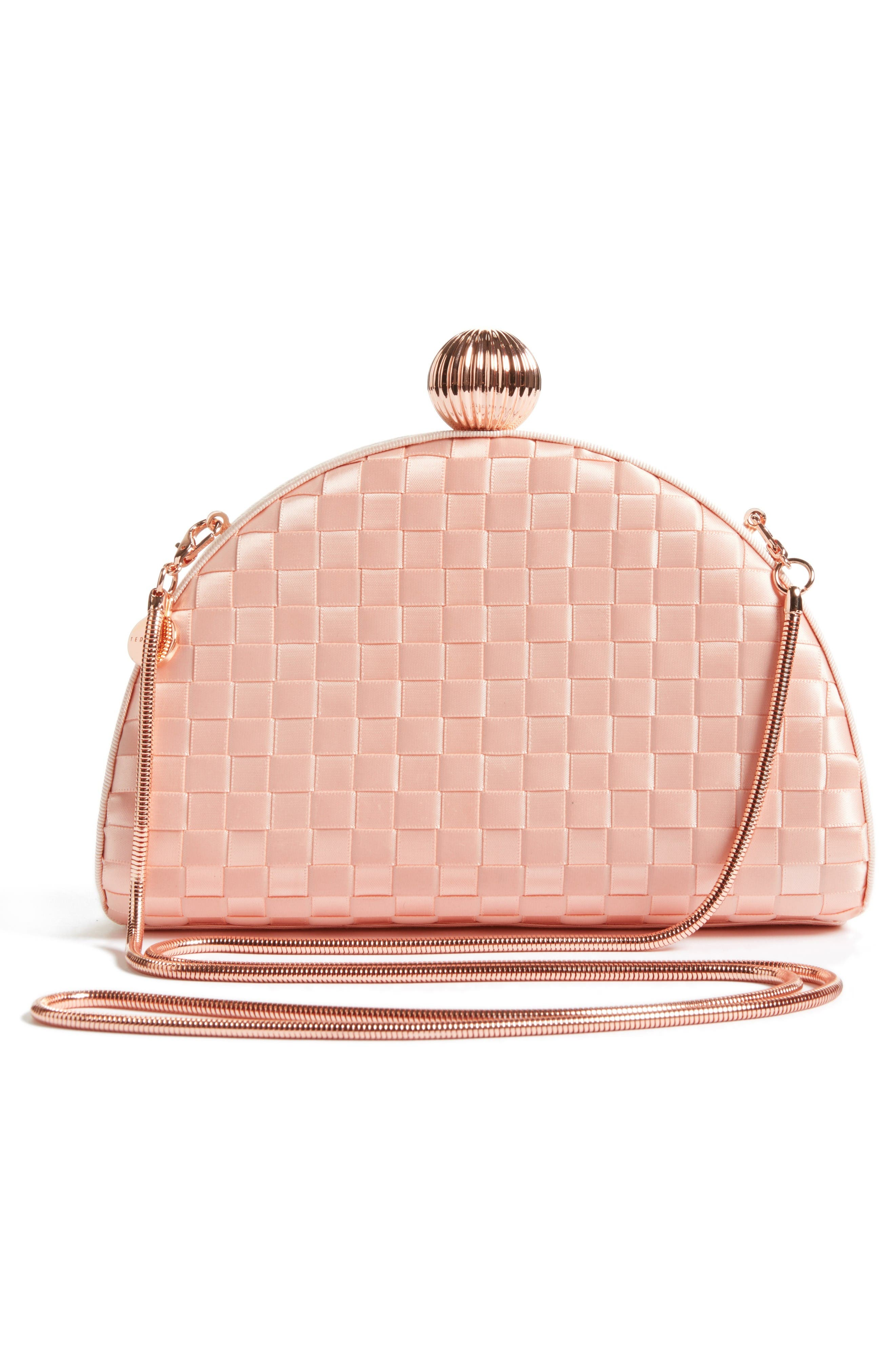 Alternate Image 2  - Ted Baker London Woven Dome Clutch