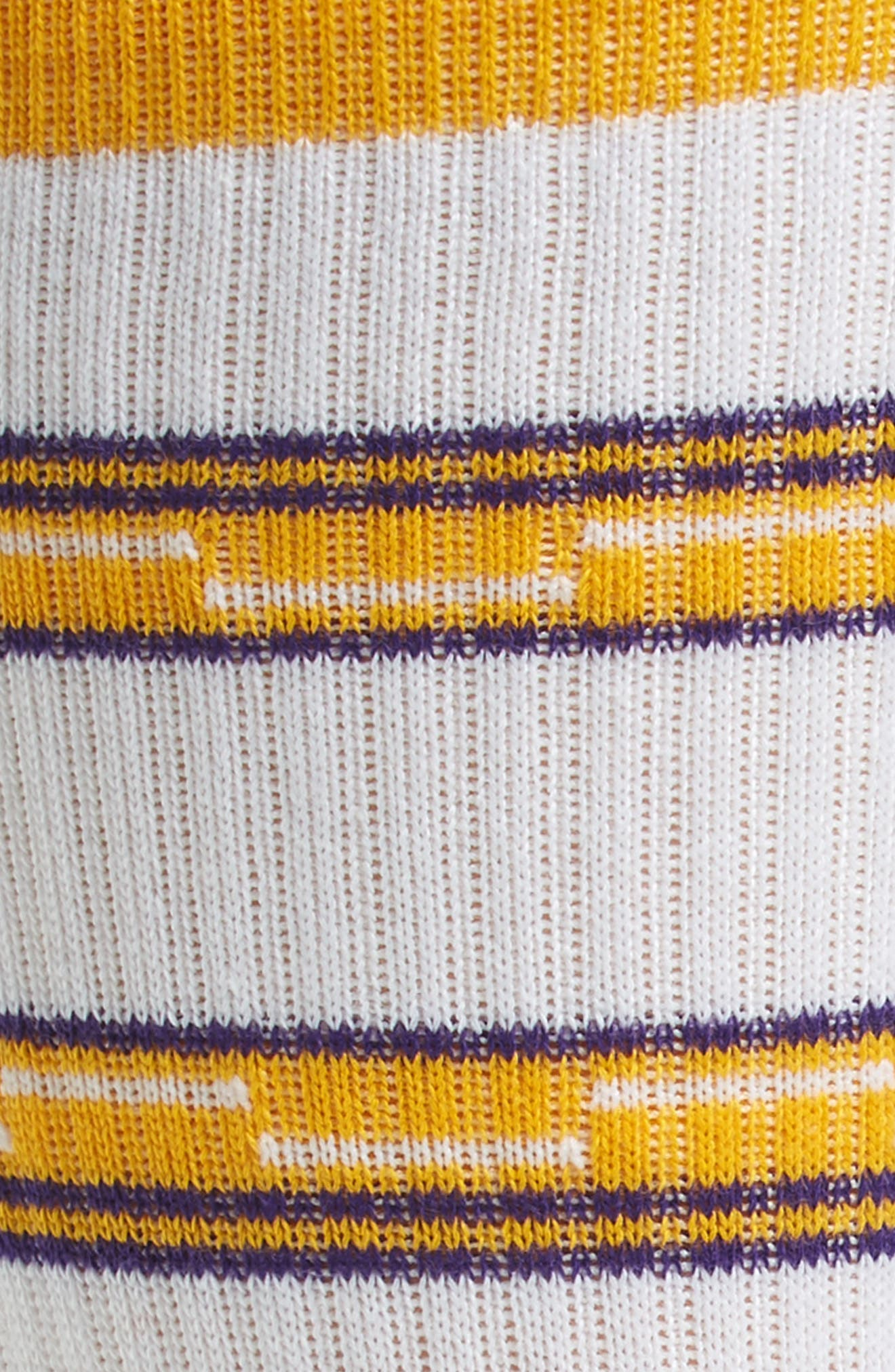 Los Angeles Lakers Arena Core Socks,                             Alternate thumbnail 2, color,                             White