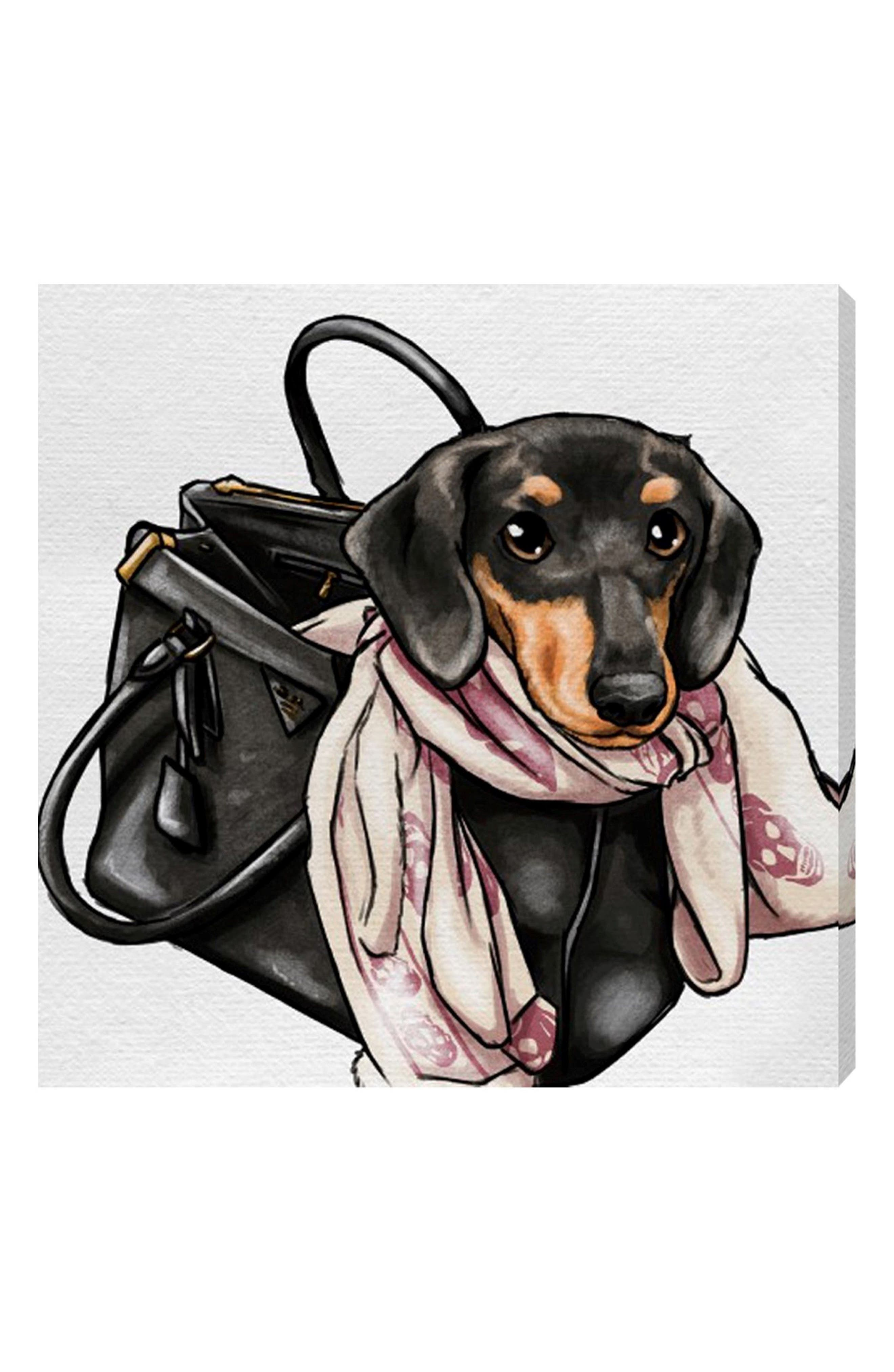 Alternate Image 1 Selected - Oliver Gal Most Favorite Companion Canvas Wall Art