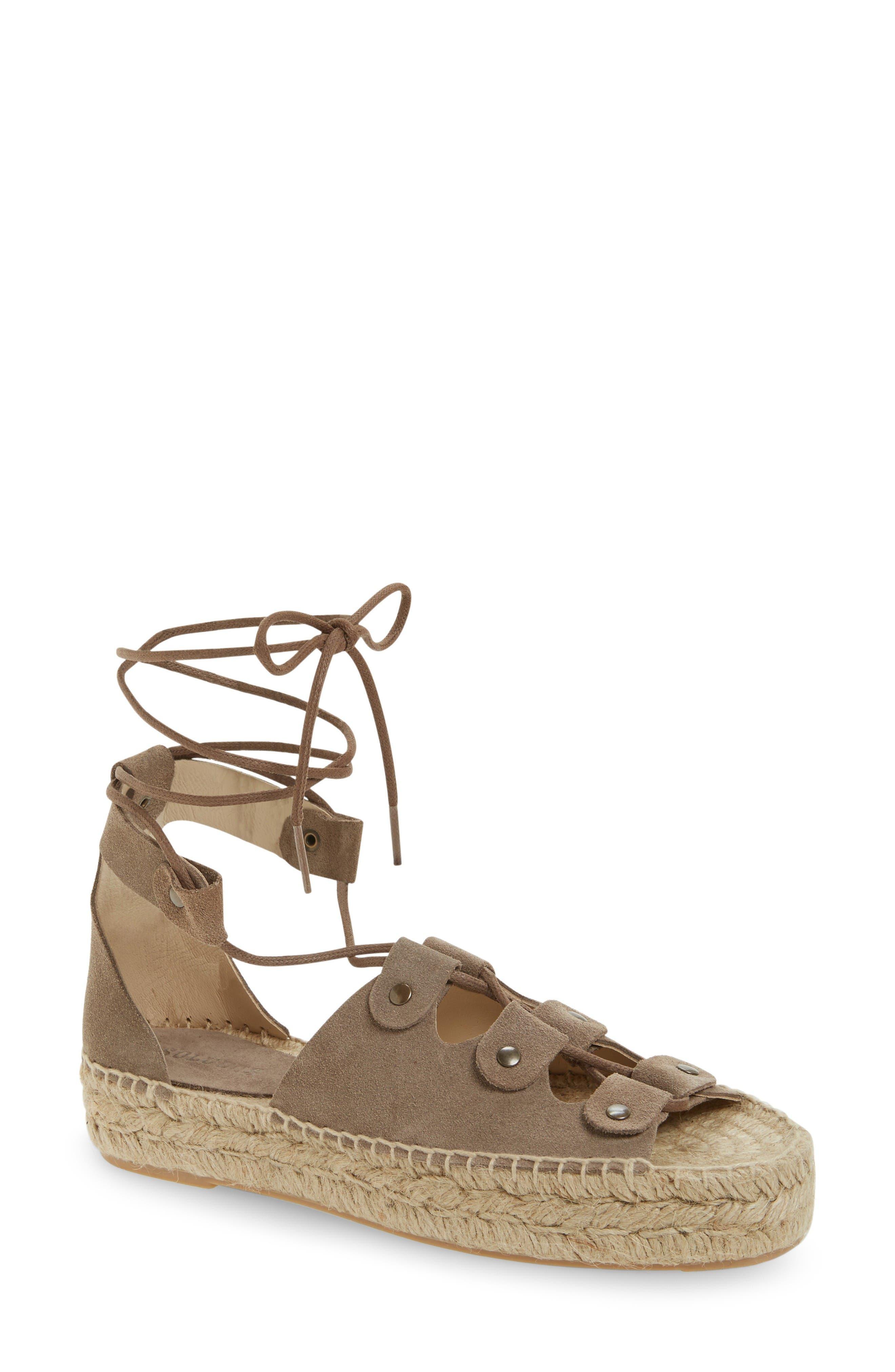 SOLUDOS Ghillie Platform Sandal