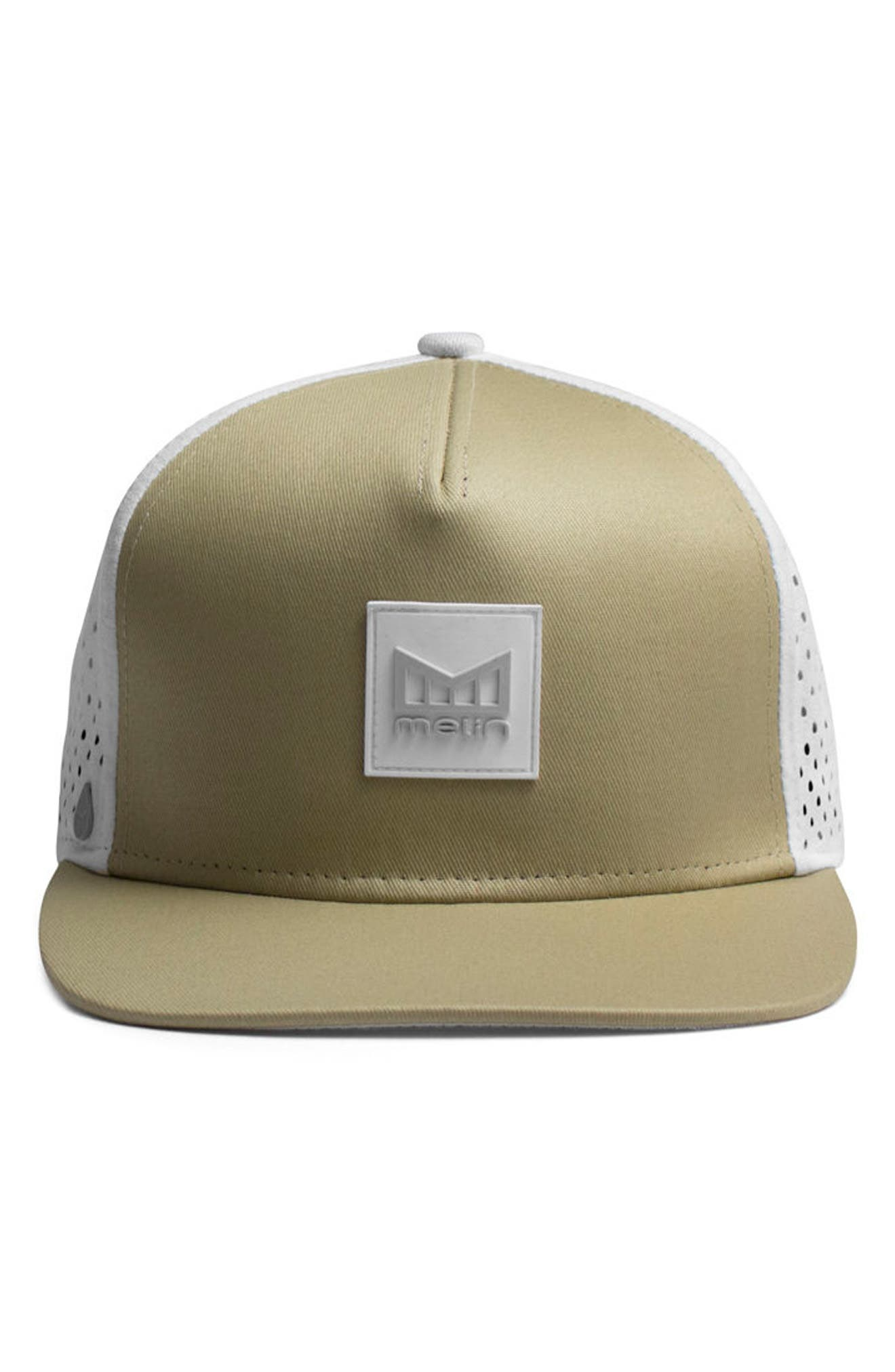 'The Nomad' Split Fit Snapback Baseball Cap,                             Alternate thumbnail 2, color,                             Sand