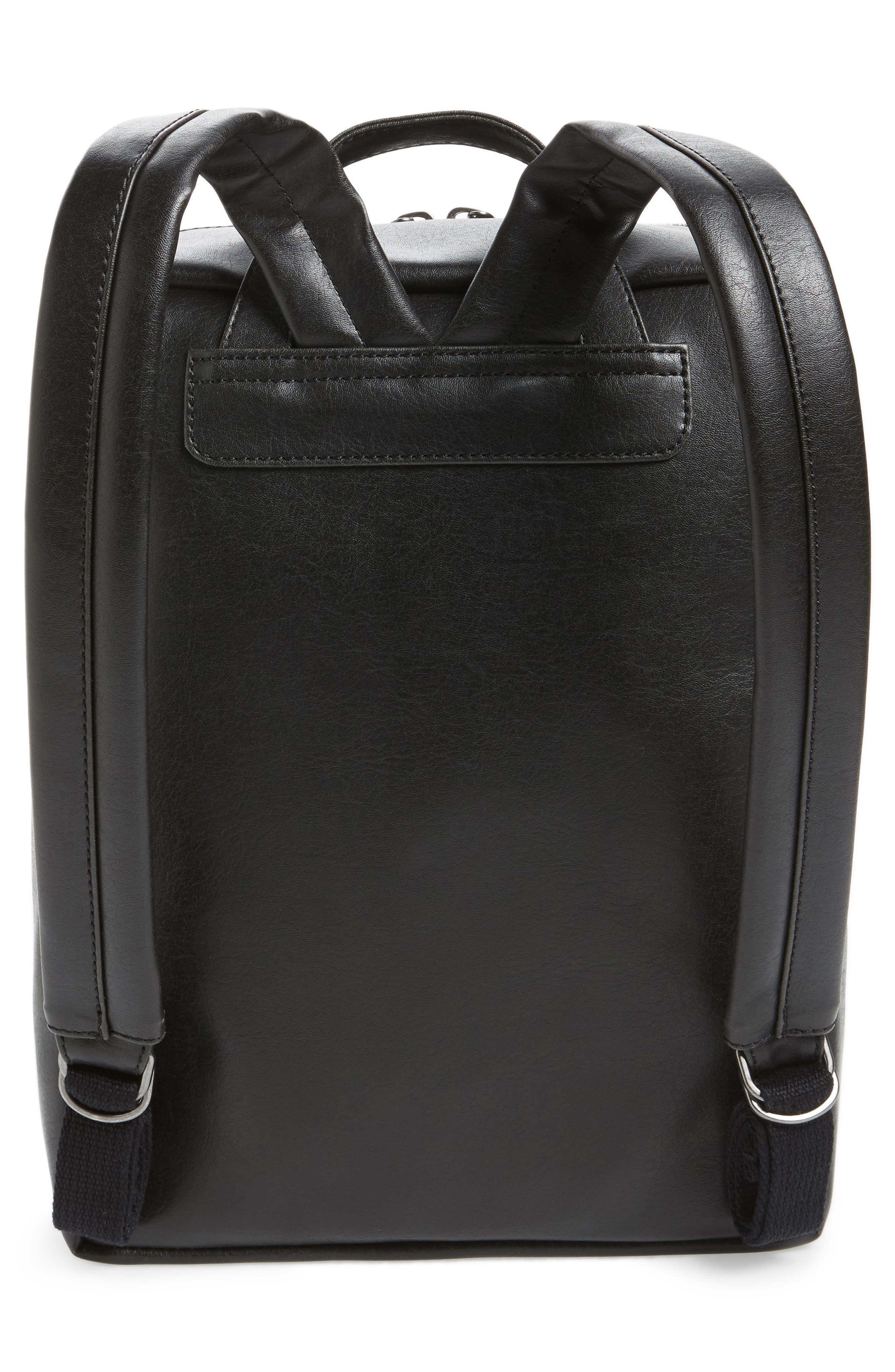 Alternate Image 3  - Matt & Nat Slate Faux Leather Backpack