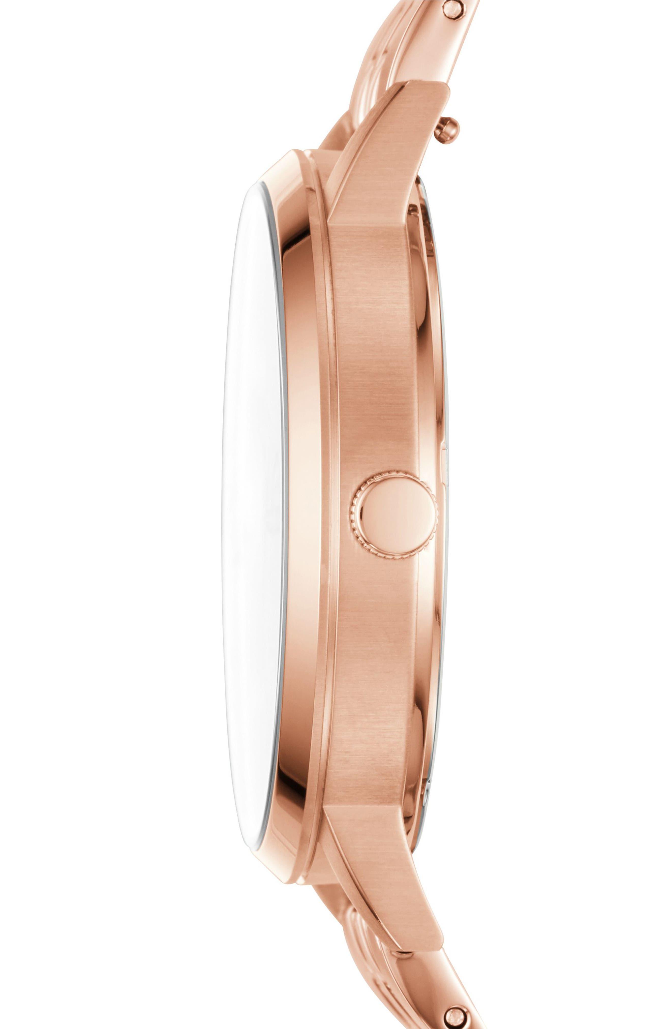 Alternate Image 2  - Fossil Gazer Multifunction Bracelet Watch, 41mm