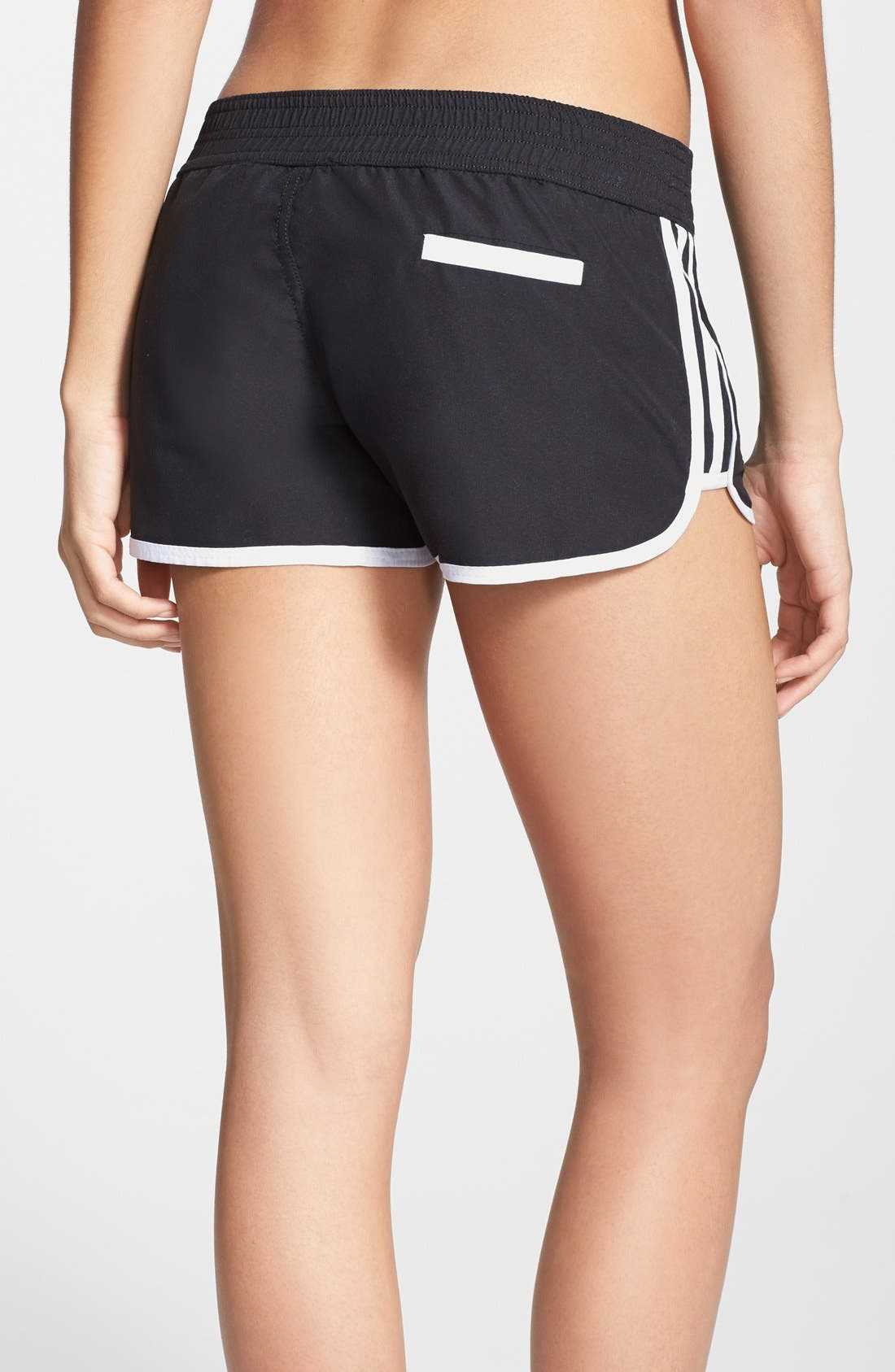 Alternate Image 2  - adidas Tie Waist Board Shorts