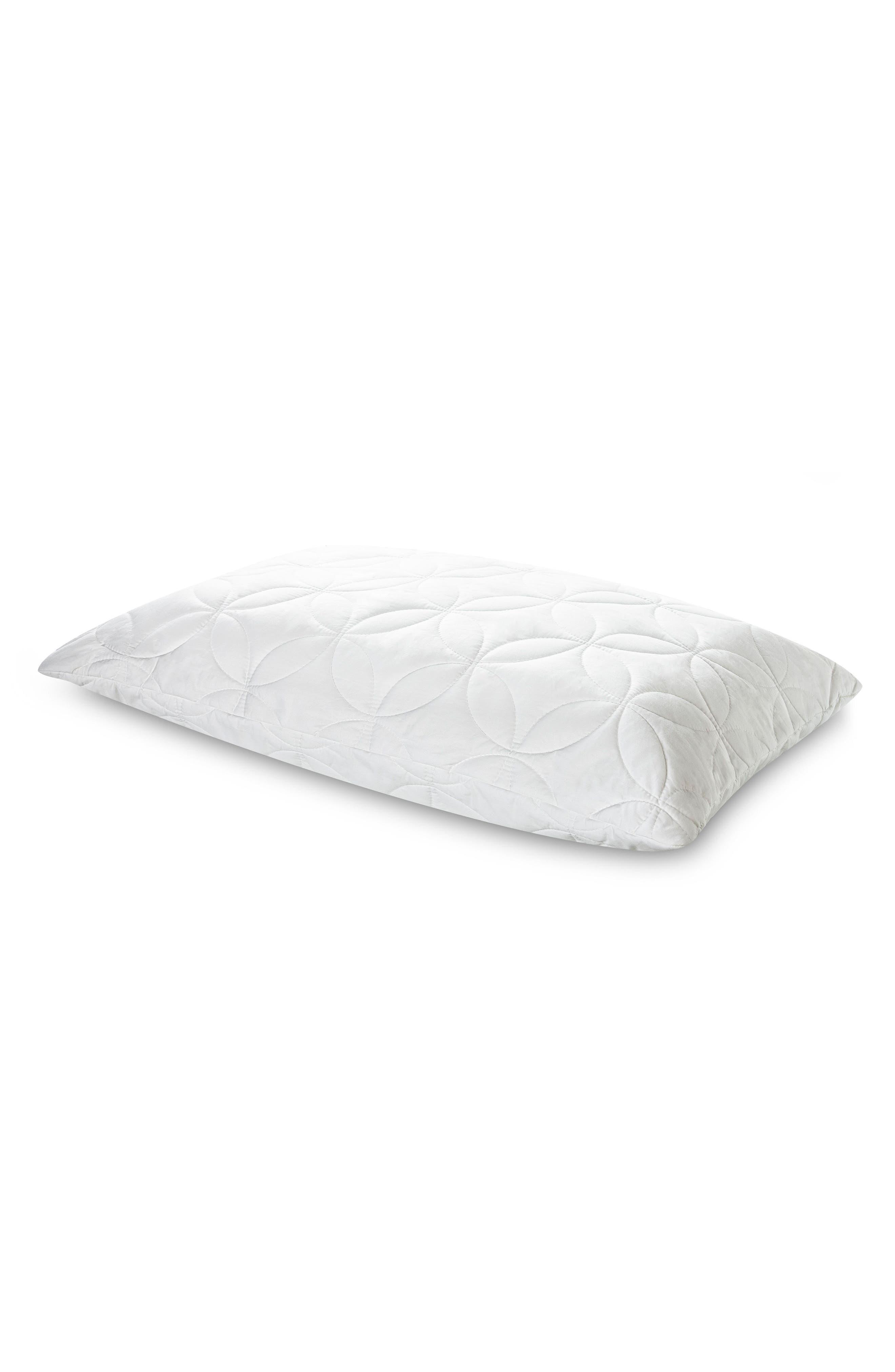 TEMPUR-Cloud Soft & Conforming Queen Pillow,                         Main,                         color, White