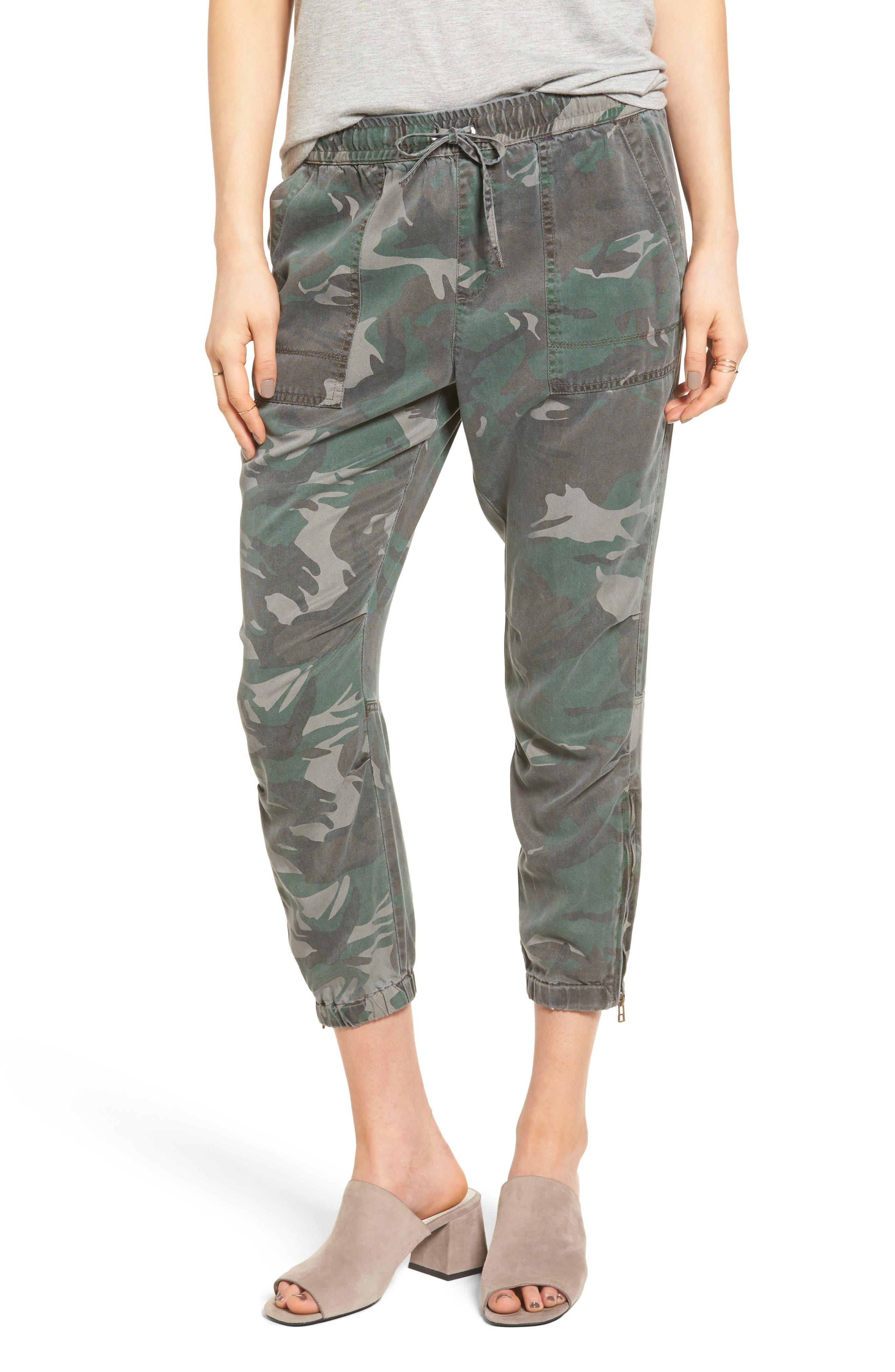 Pam & Gela Camo Crop Pants