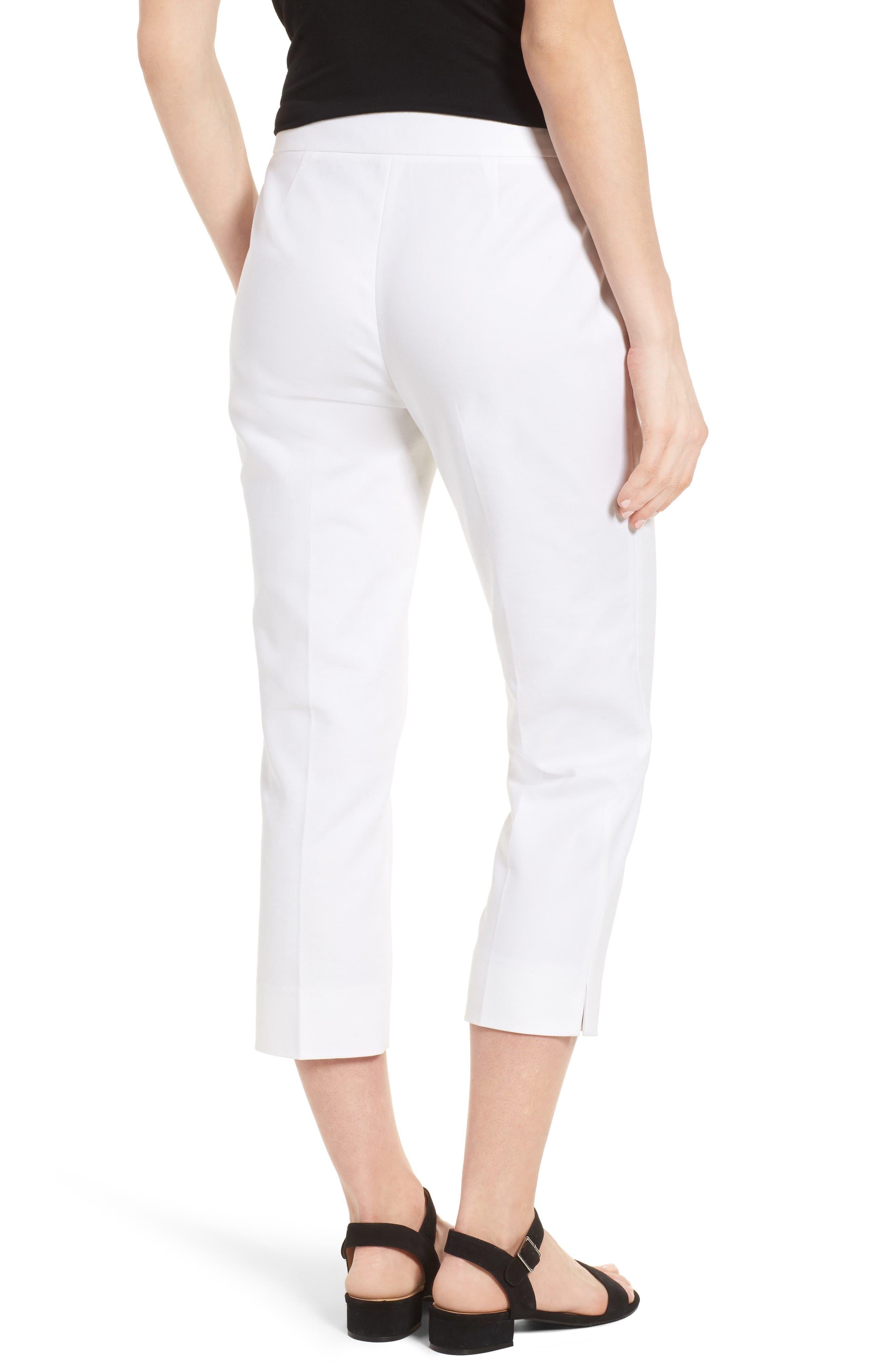 Crop Pants,                             Alternate thumbnail 2, color,                             New Ivory