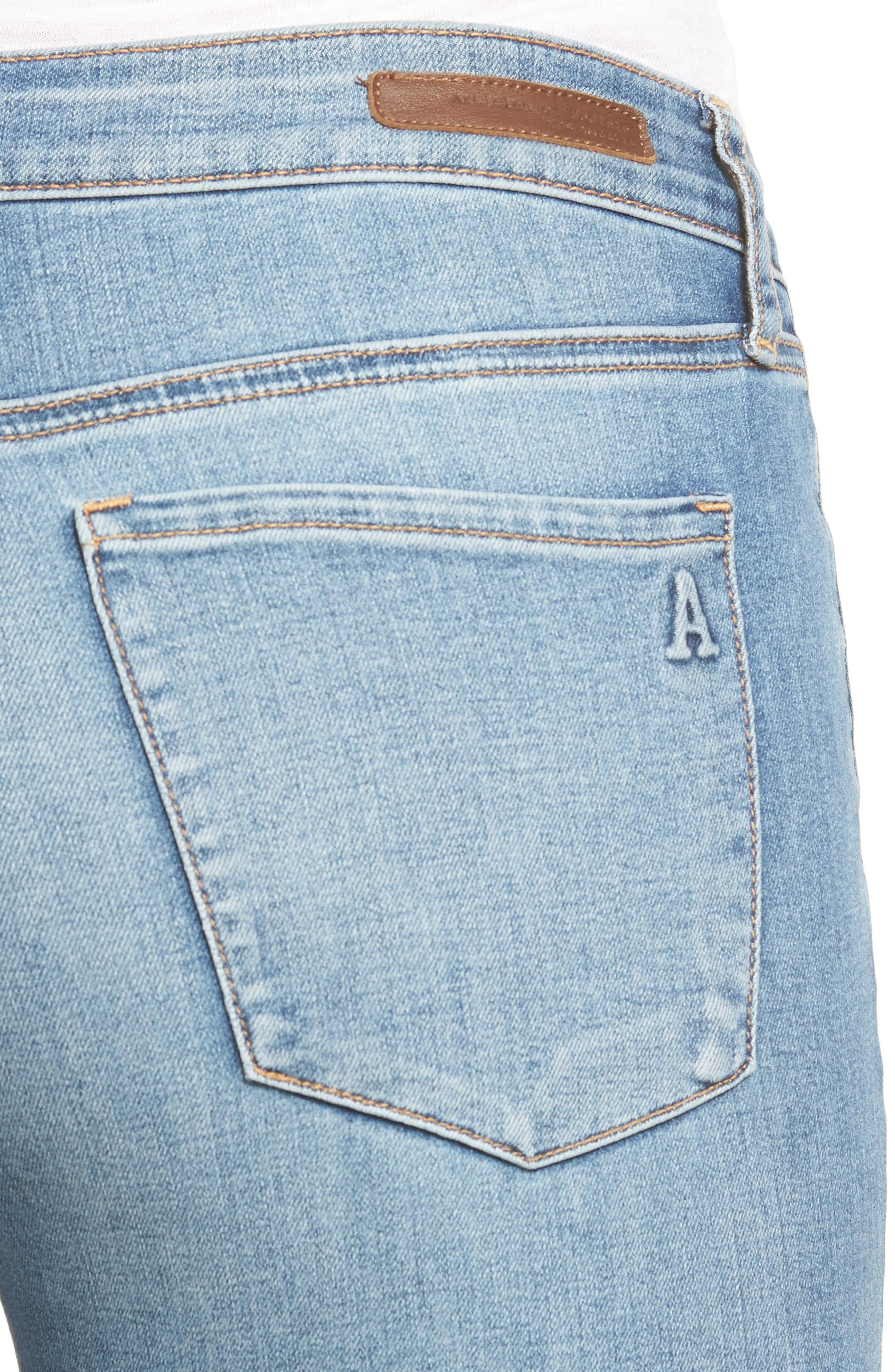 Alternate Image 4  - Articles of Society Carly Skinny Crop Jeans (Derby)