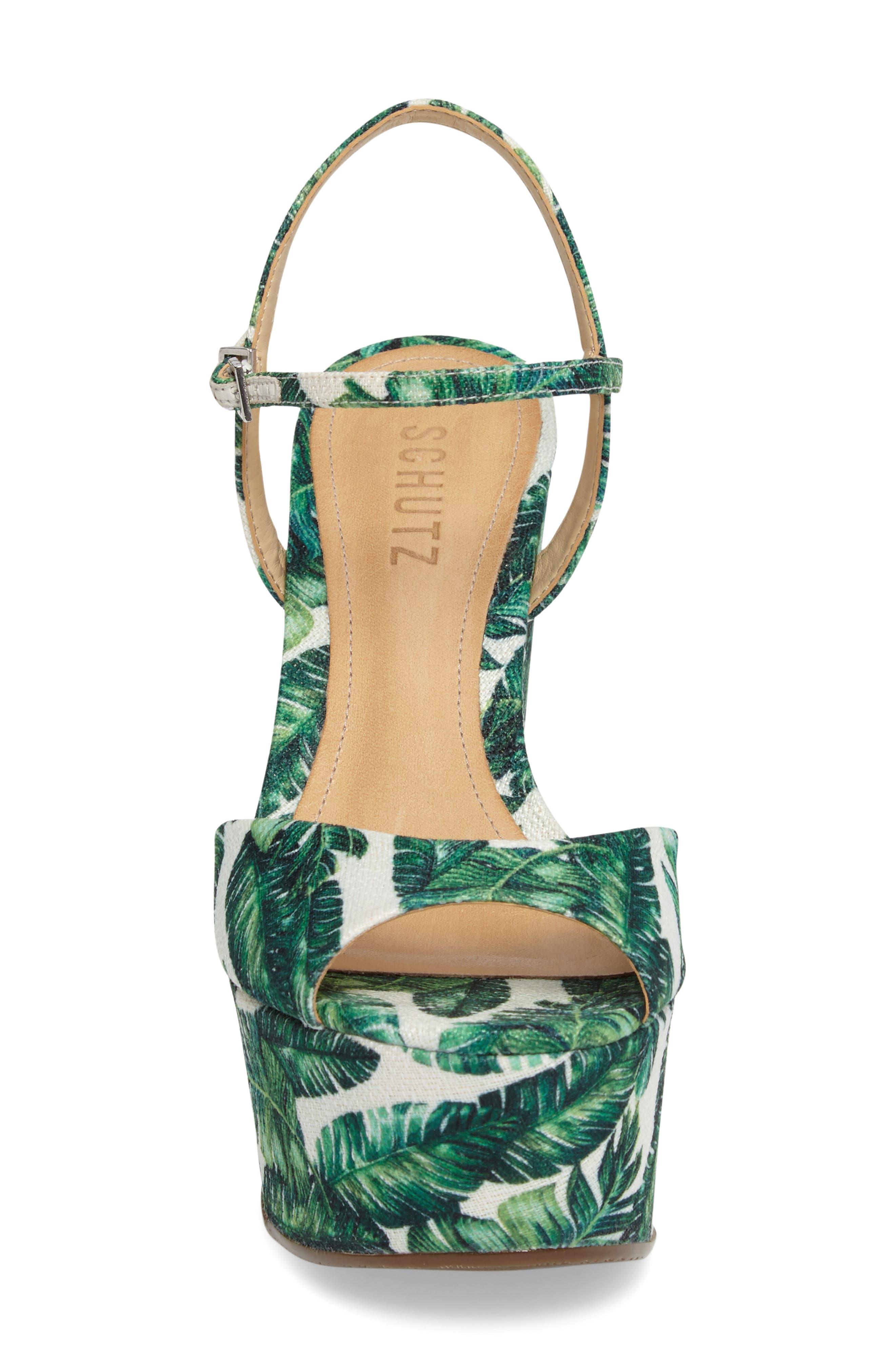 Alternate Image 4  - Schutz Patrycia Wedge Sandal (Women)