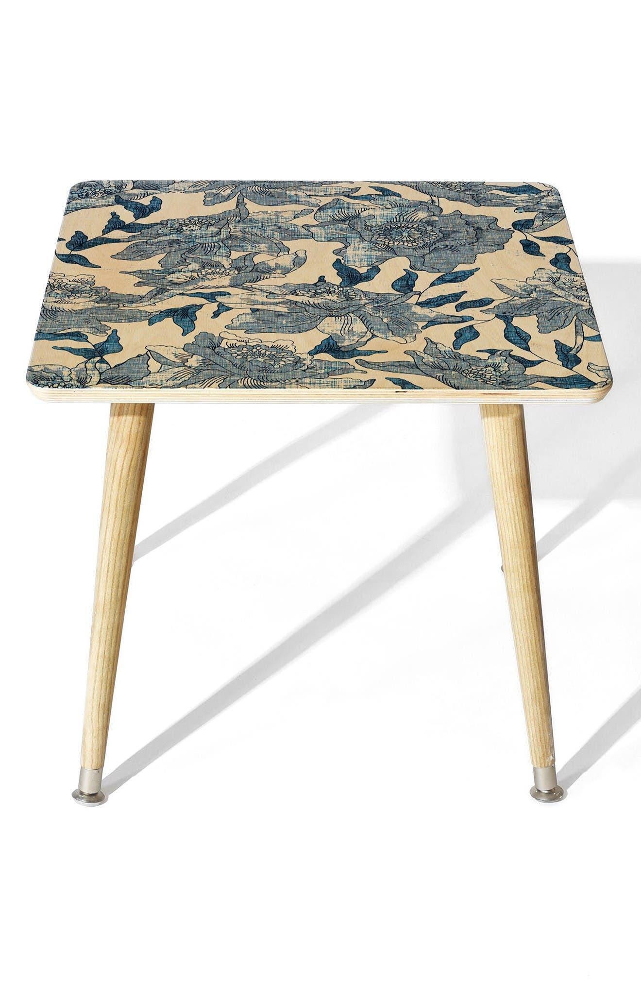 Main Image - Deny Designs Summertime Indigo Side Table