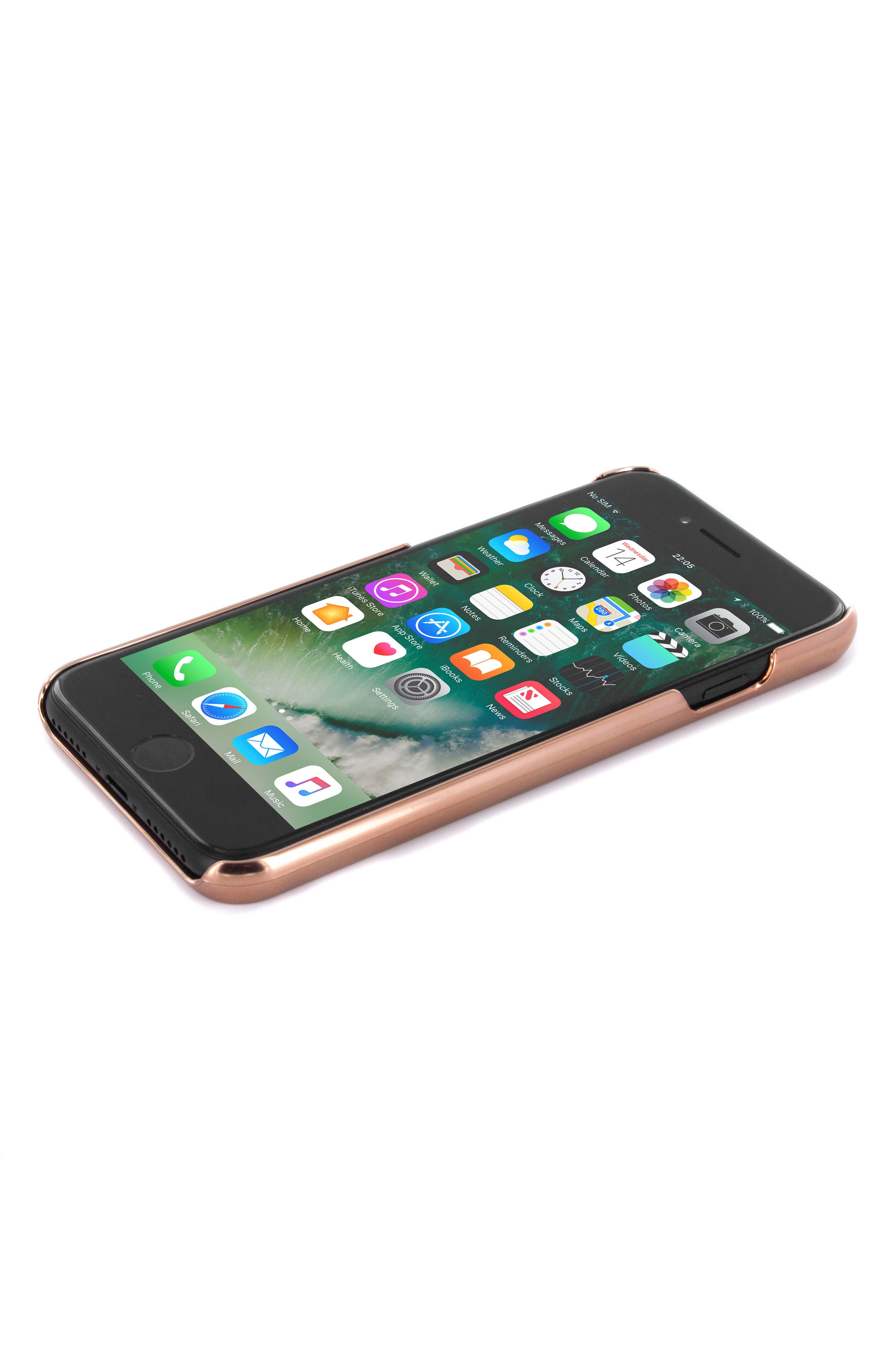 Rico iPhone 6/6s/7/8 Plus Case,                             Alternate thumbnail 3, color,                             Rose Gold