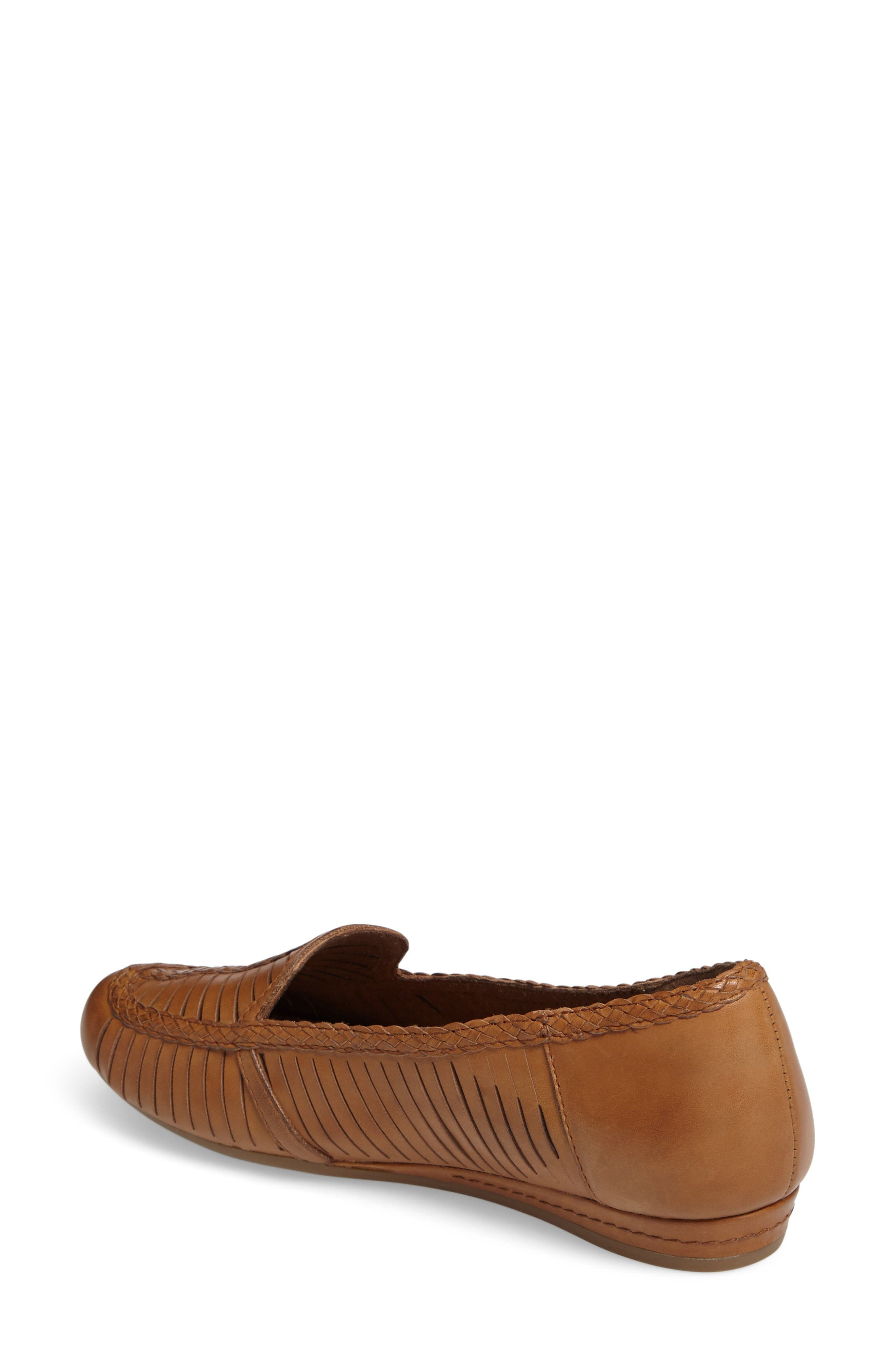 Galway Loafer,                             Alternate thumbnail 2, color,                             Tan Multi Leather