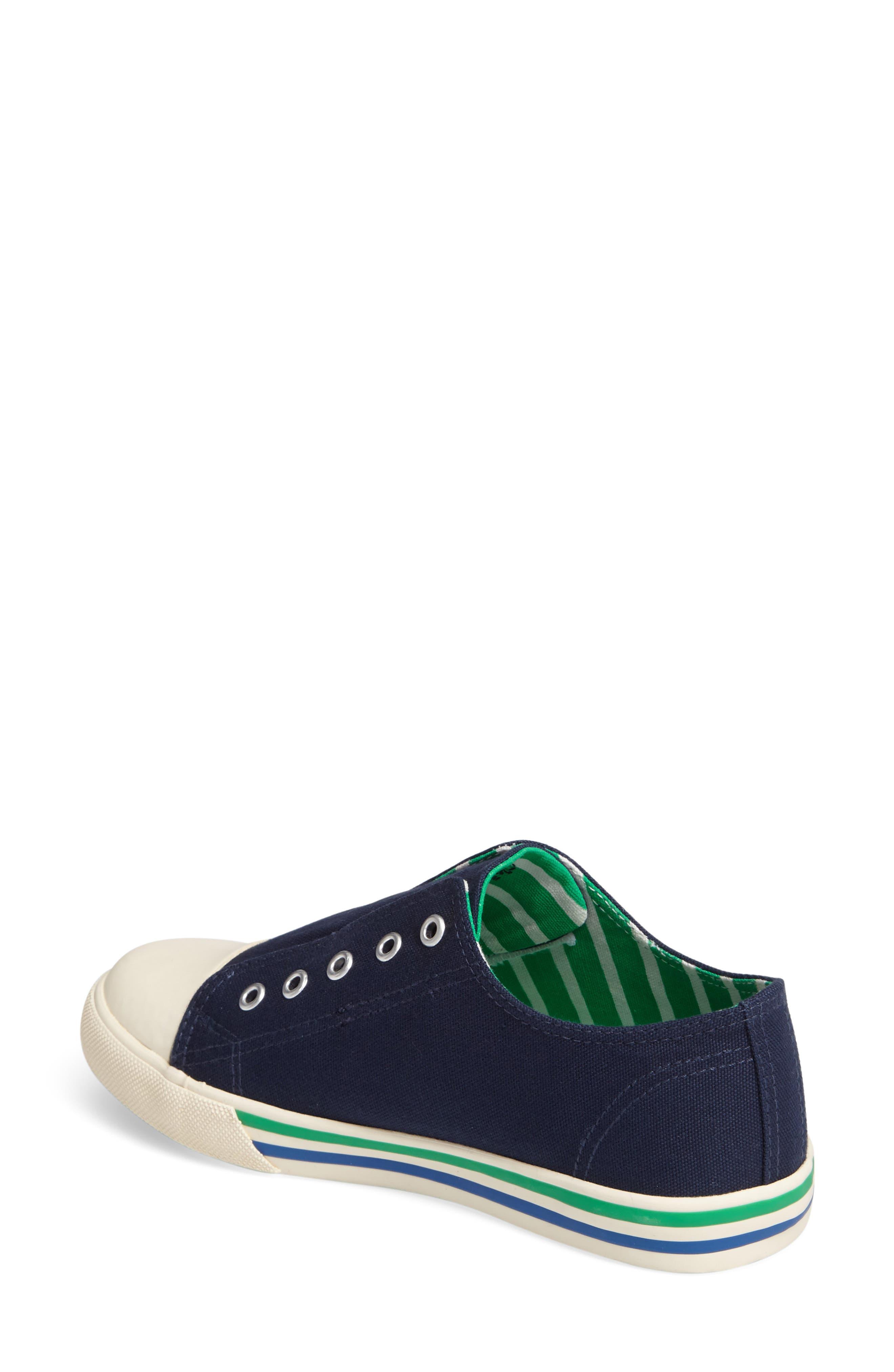 Alternate Image 2  - Mini Boden Laceless Sneaker (Toddler, Little Kid & Big Kid)