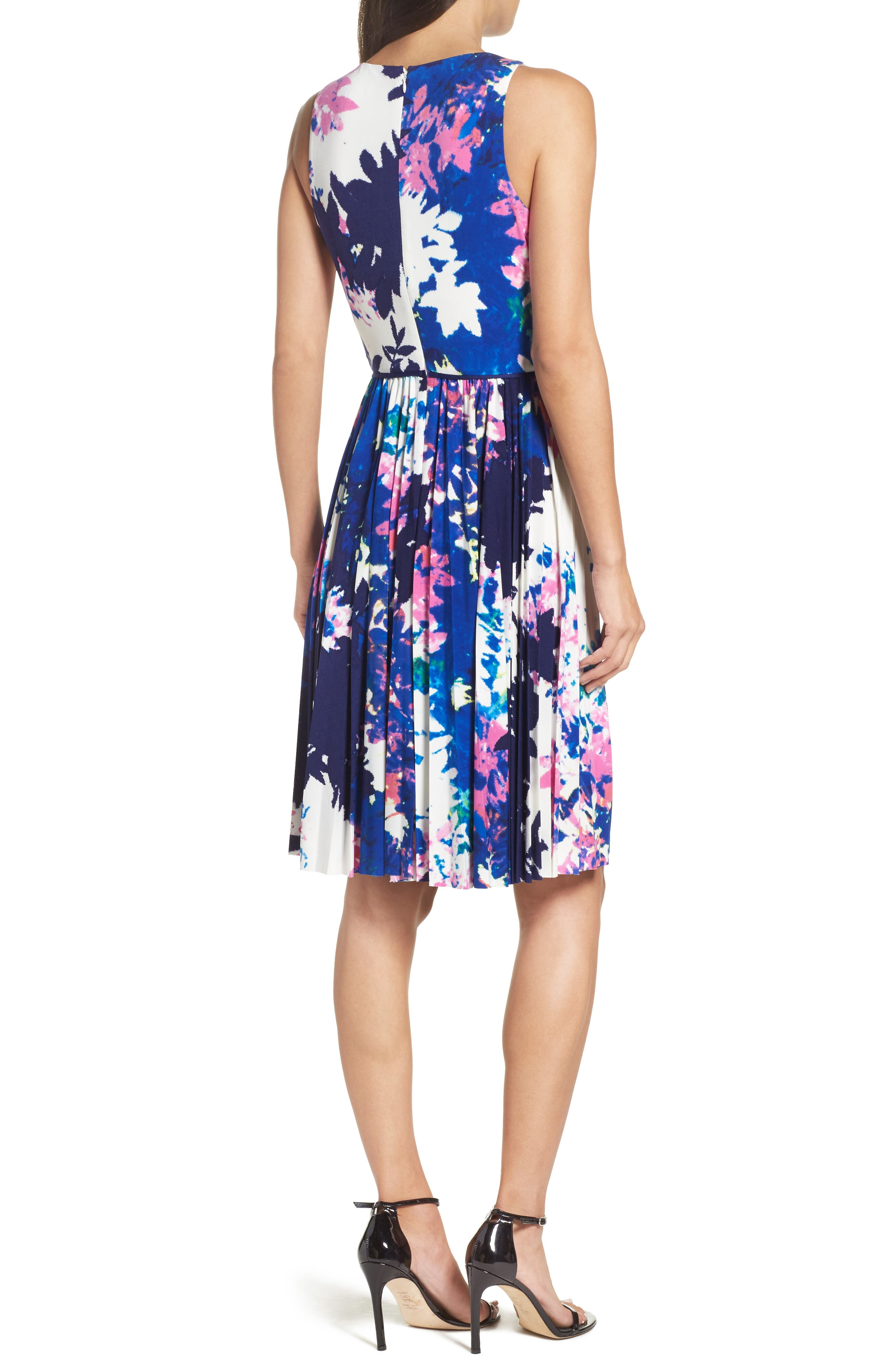 Alternate Image 2  - Maggy London Stretch Fit & Flare Dress (Regular & Petite)