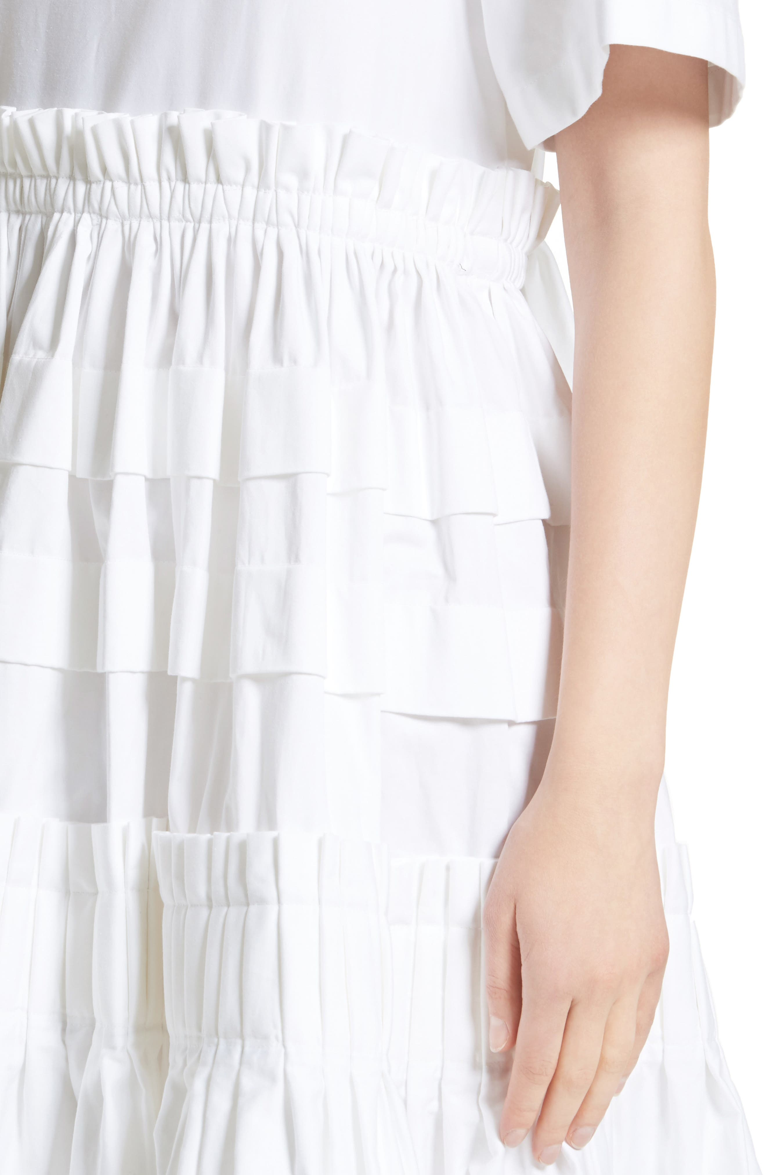Mathilda Maxi Dress,                             Alternate thumbnail 8, color,                             White