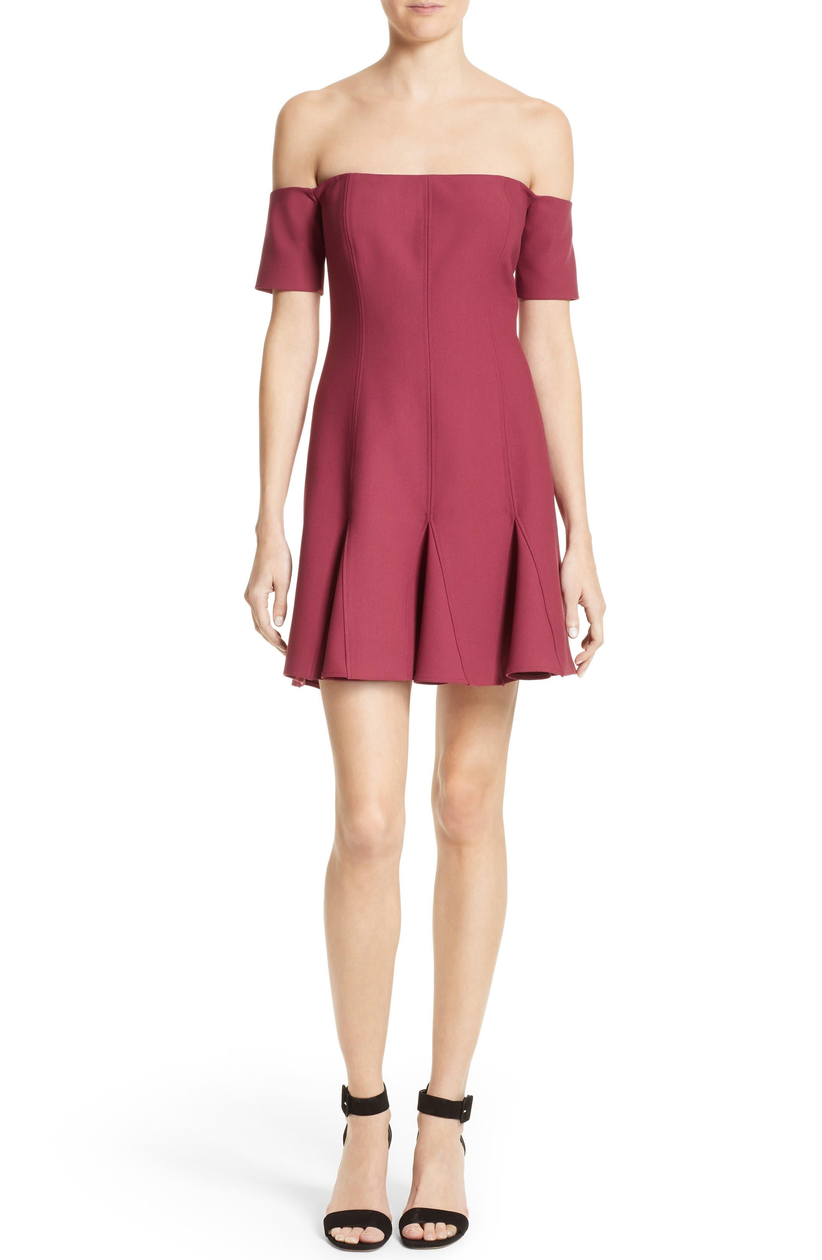 Alternate Image 1 Selected - Cinq à Sept Elva Off the Shoulder Dress