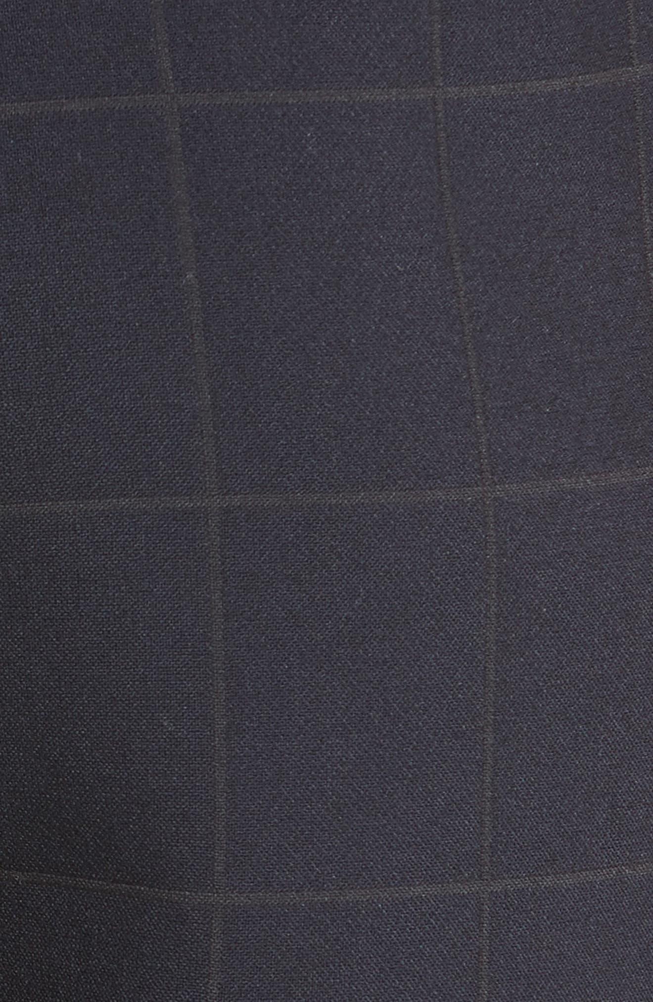 Alternate Image 3  - Armani Collezioni Windowpane Plaid Pants