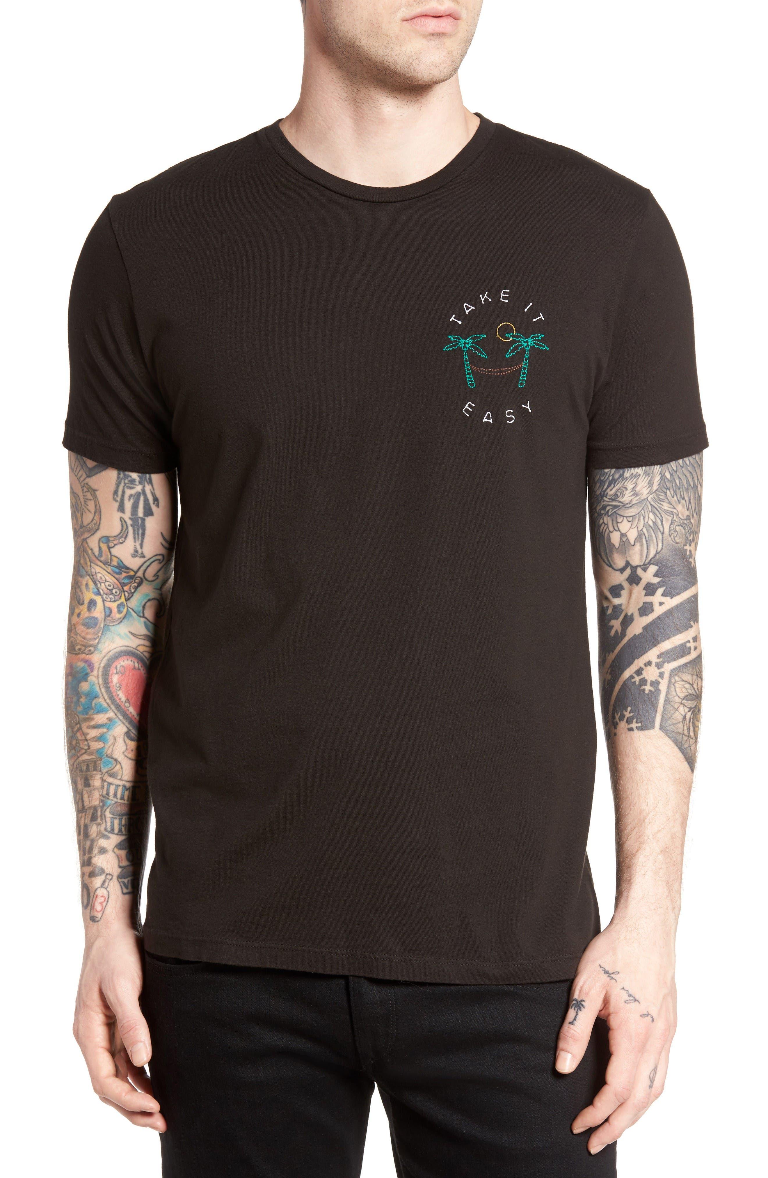 Take It Easy T-Shirt,                         Main,                         color, Graphite