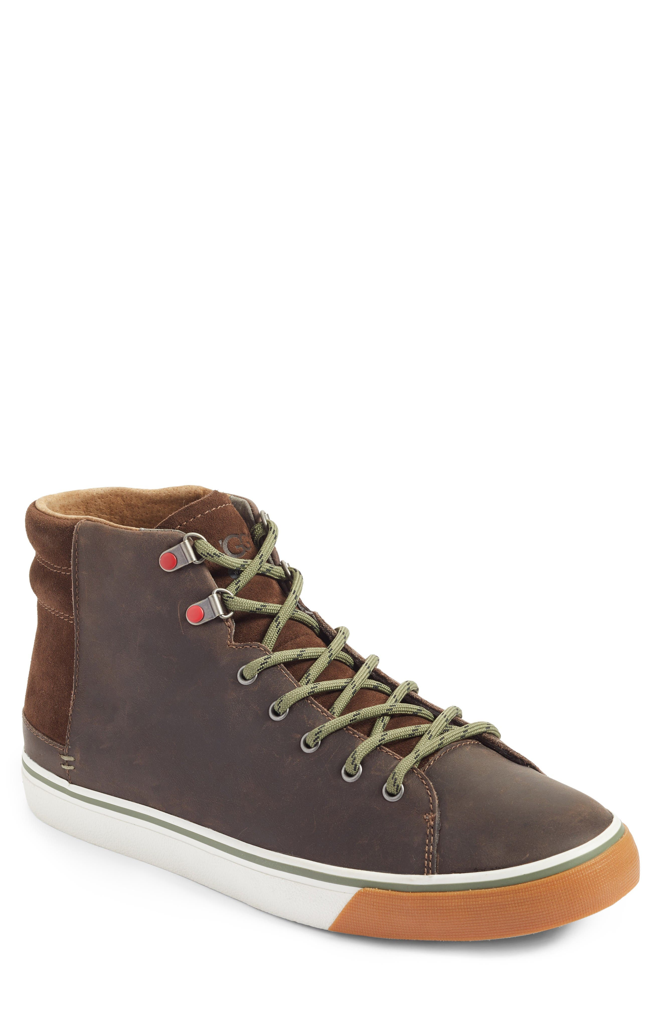 Hoyt High Top Sneaker,                         Main,                         color, Grizzly