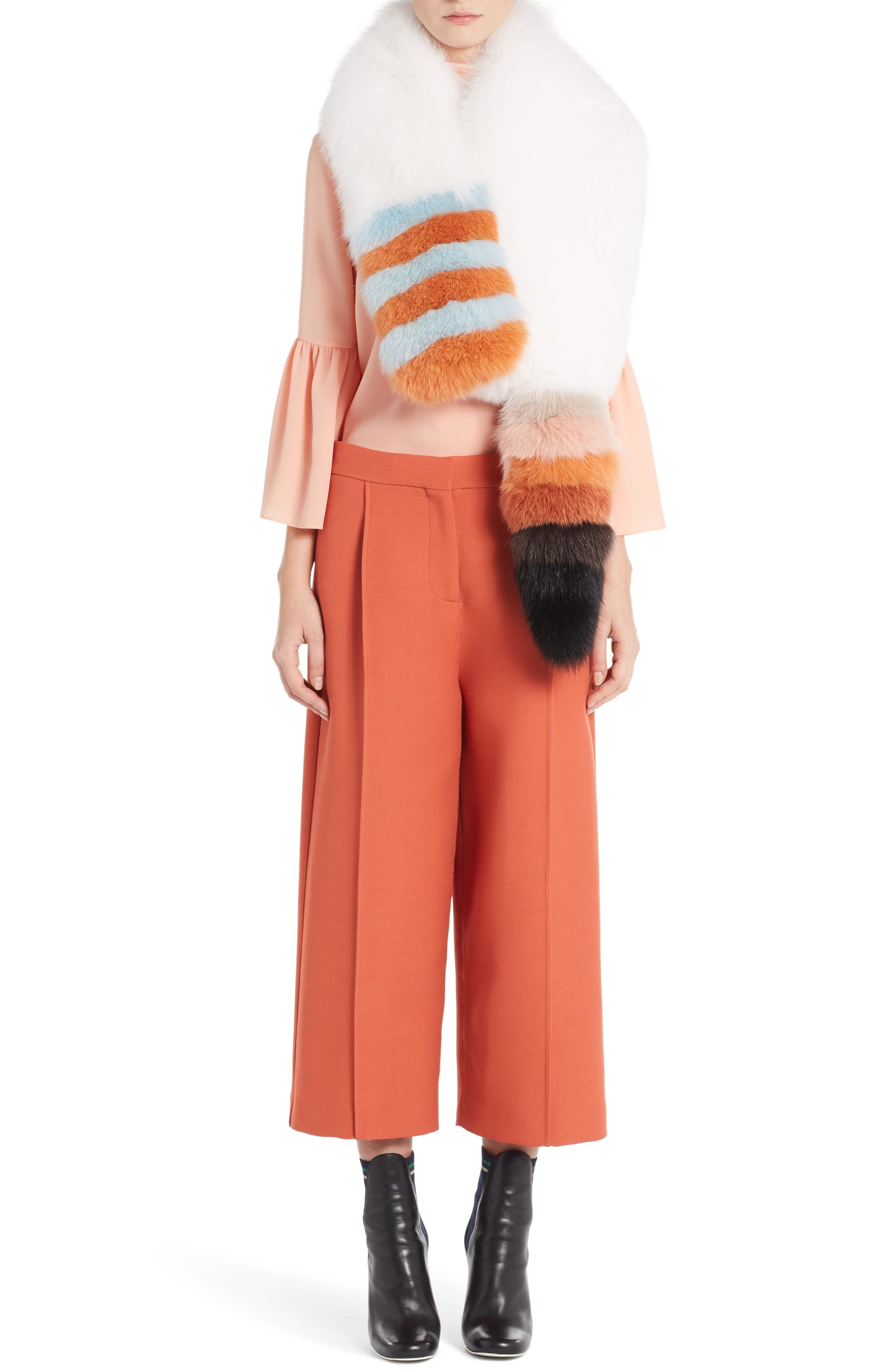 Main Image - Fendi Genuine Fox Fur Stole
