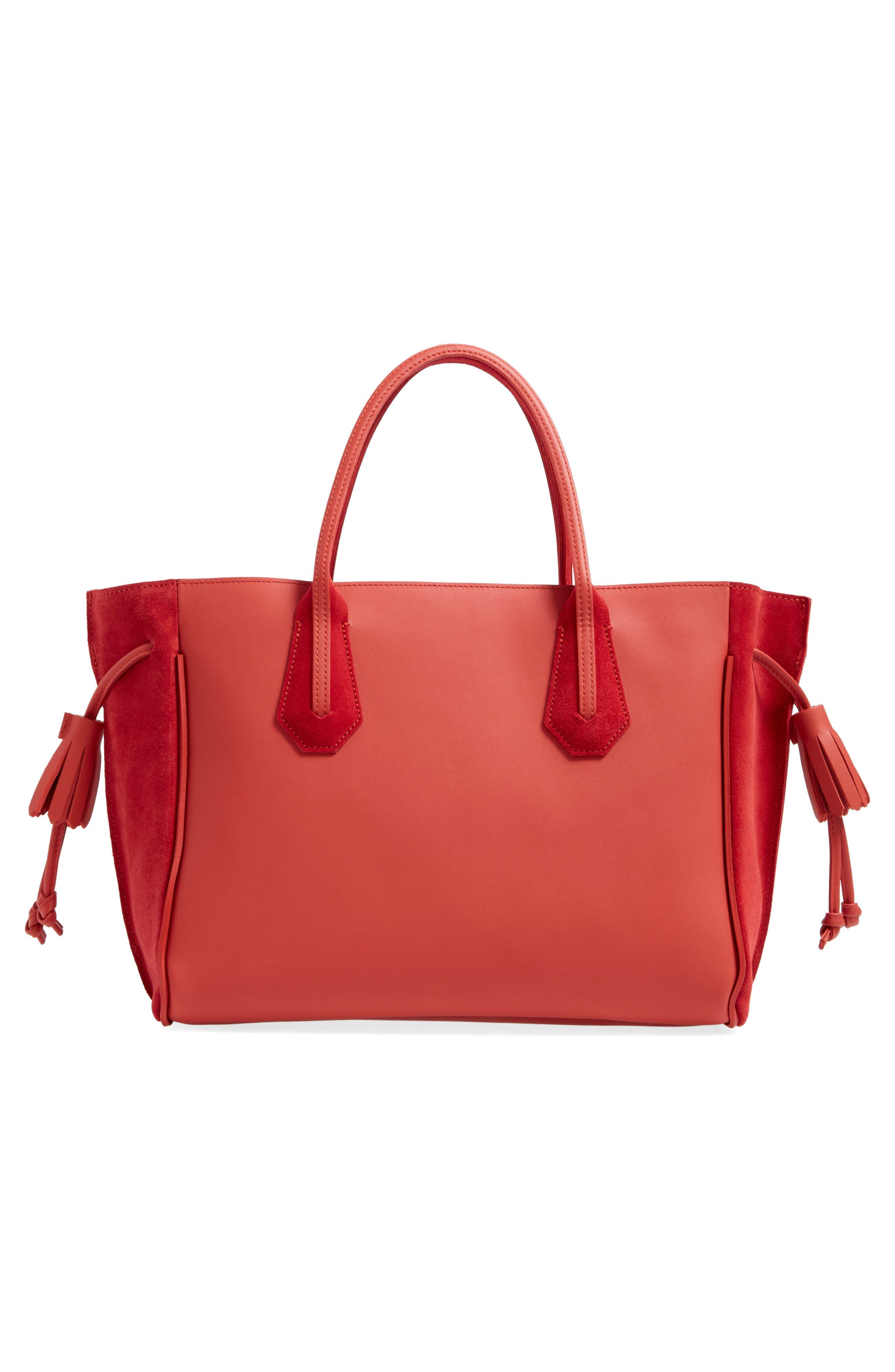 Alternate Image 3  - Longchamp Medium Penelope Fastaisie Leather Tote