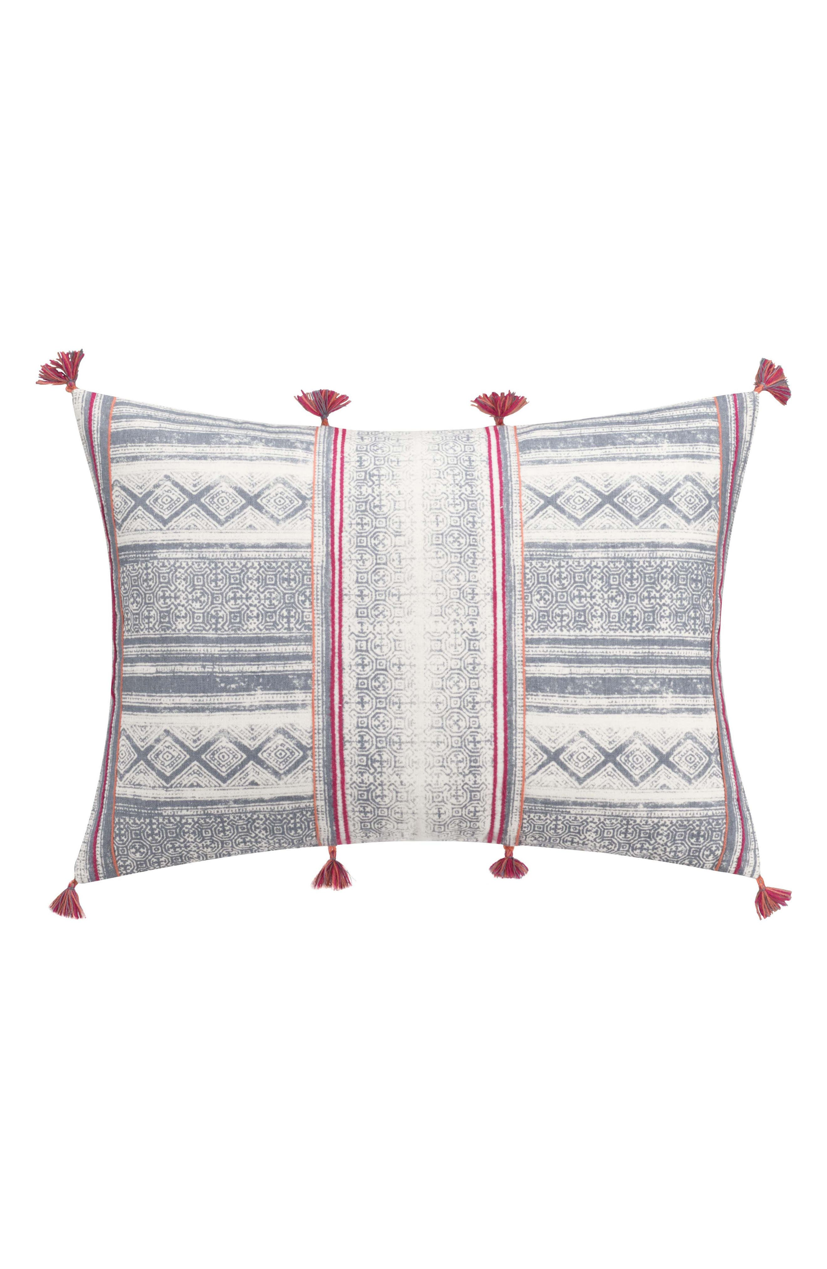 Alternate Image 1 Selected - cupcakes and cashmere Mixed Stripe Accent Pillow