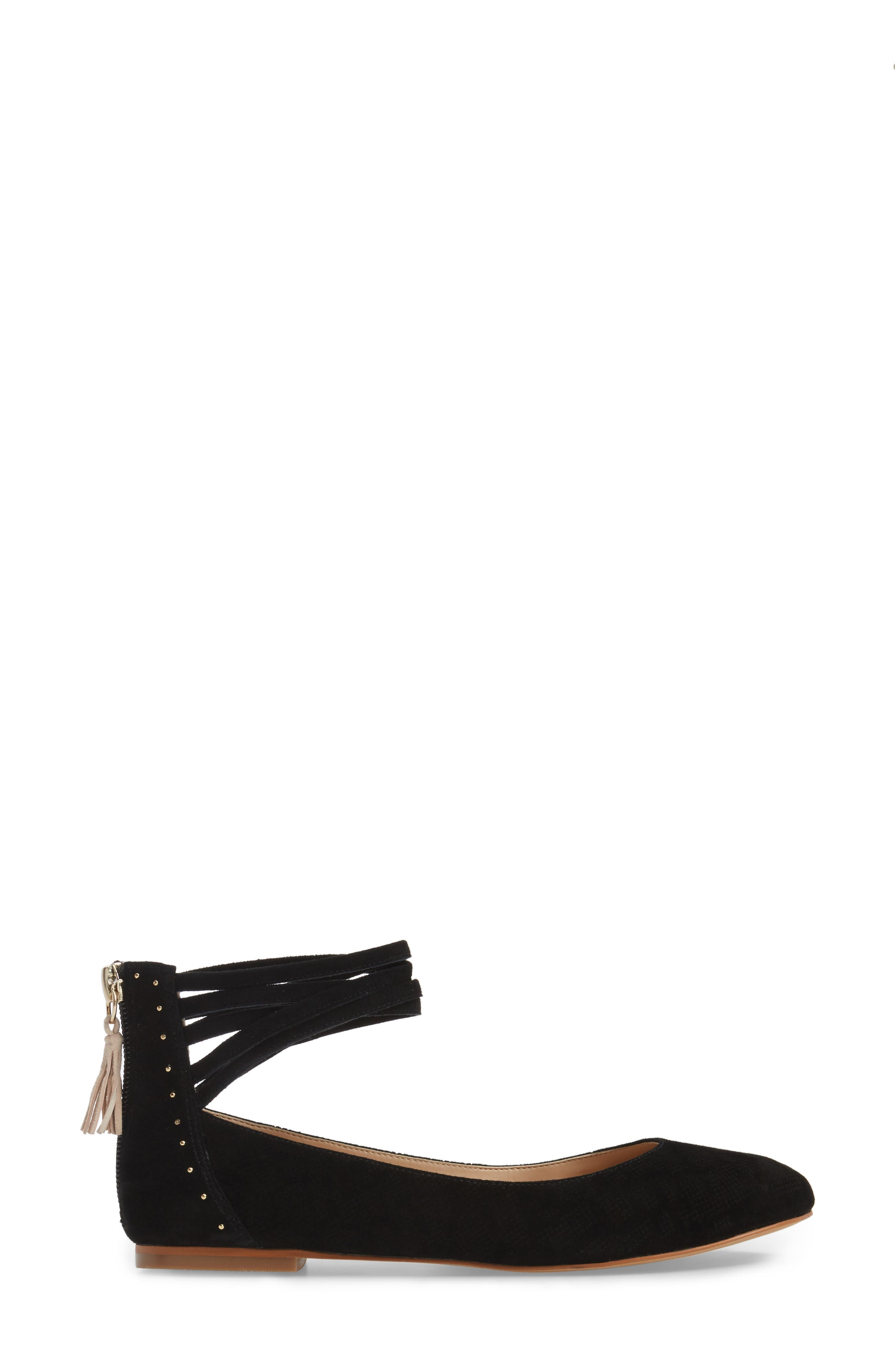 Alternate Image 3  - Dr. Scholl's Vonne Ankle Wrap Ballet Flat (Women)
