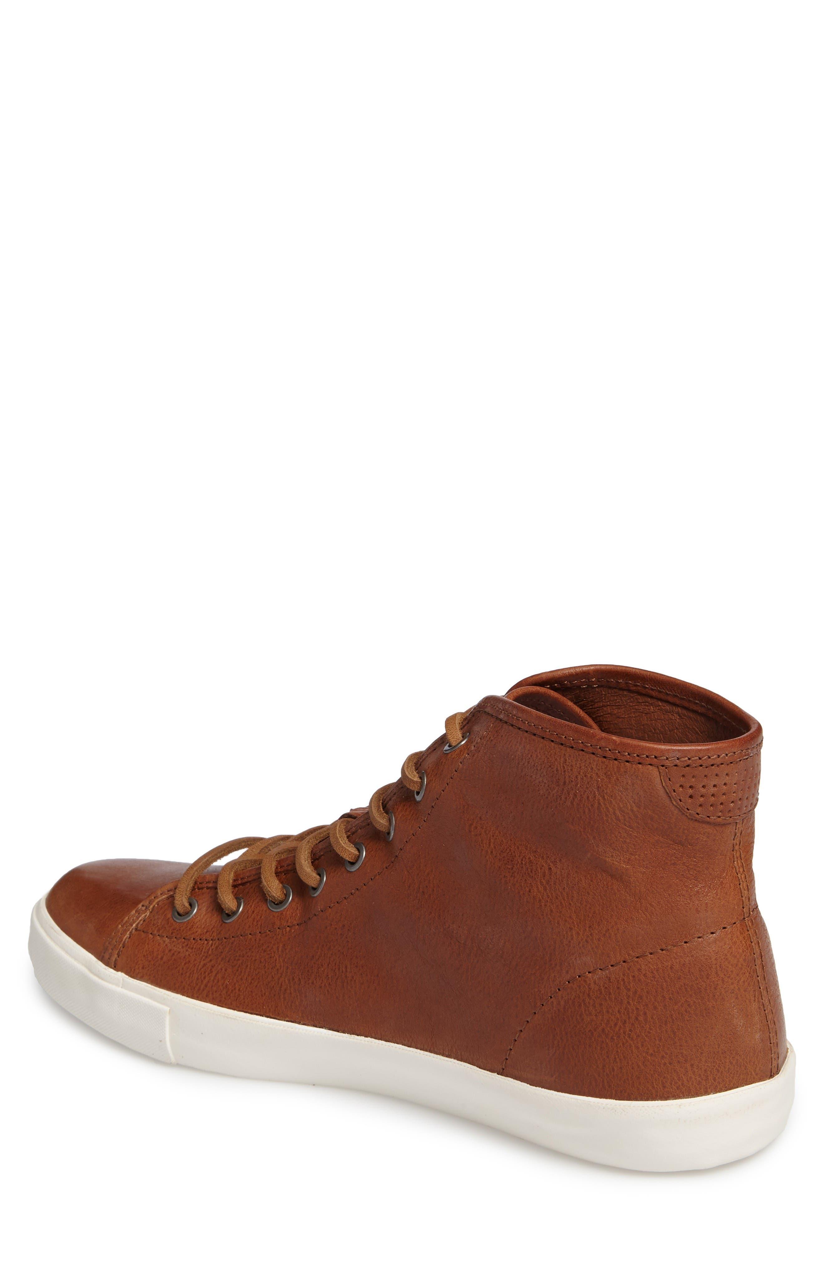 Brett High Top Sneaker,                             Alternate thumbnail 2, color,                             Copper