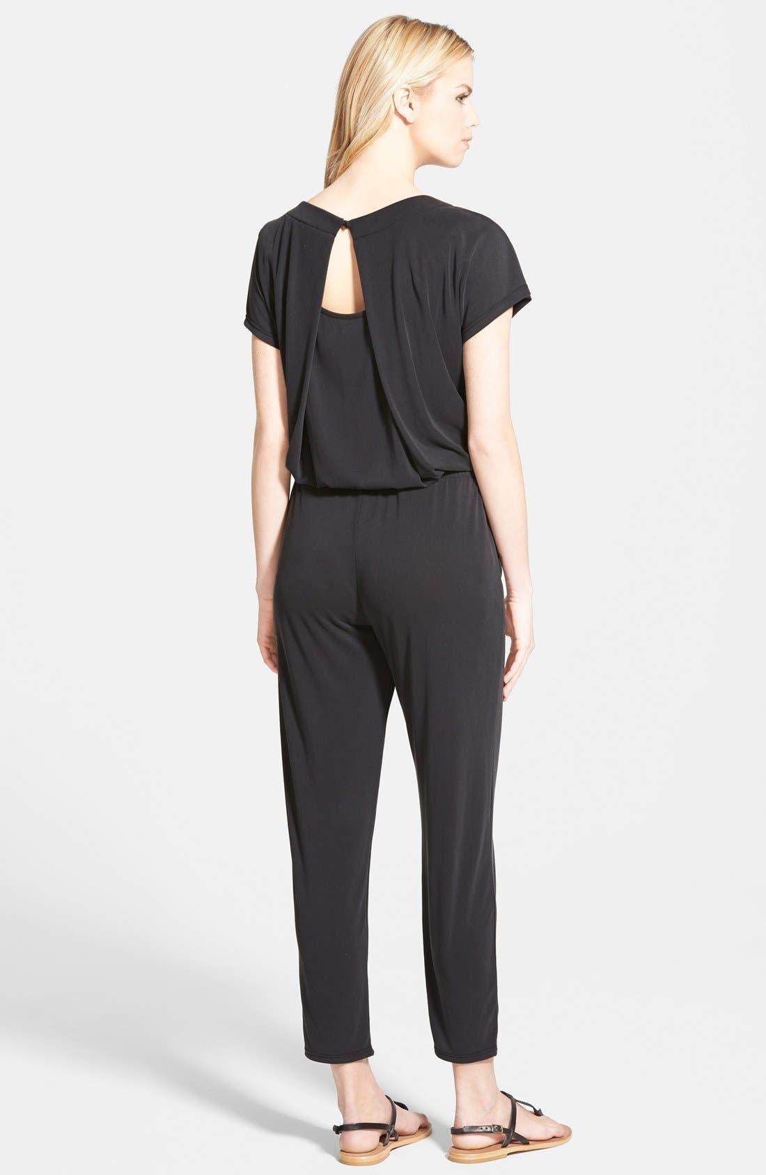 Alternate Image 2  - Splendid Short Sleeve Jumpsuit