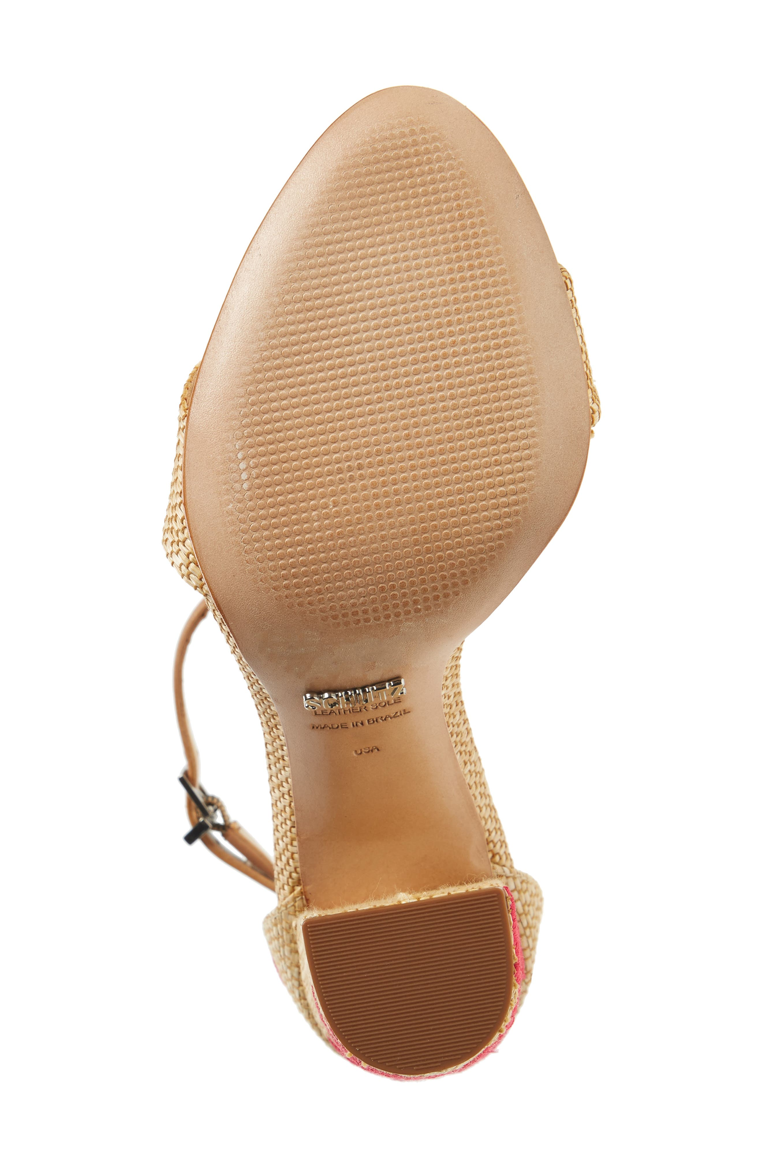 Alternate Image 6  - Schutz Carolaine Woven Sandal (Women)