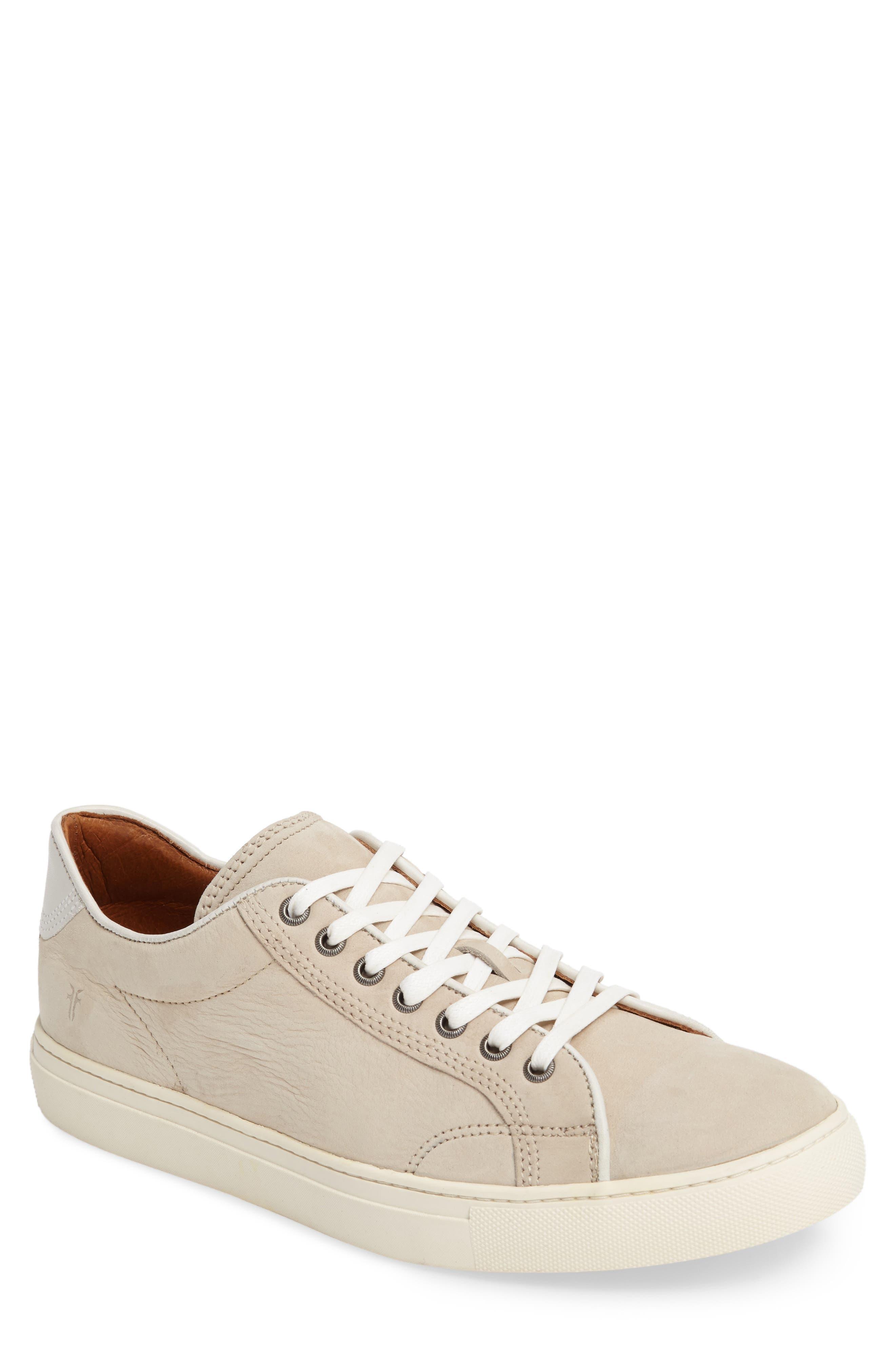 Walker Low Top Sneaker,                             Main thumbnail 1, color,                             Ivory