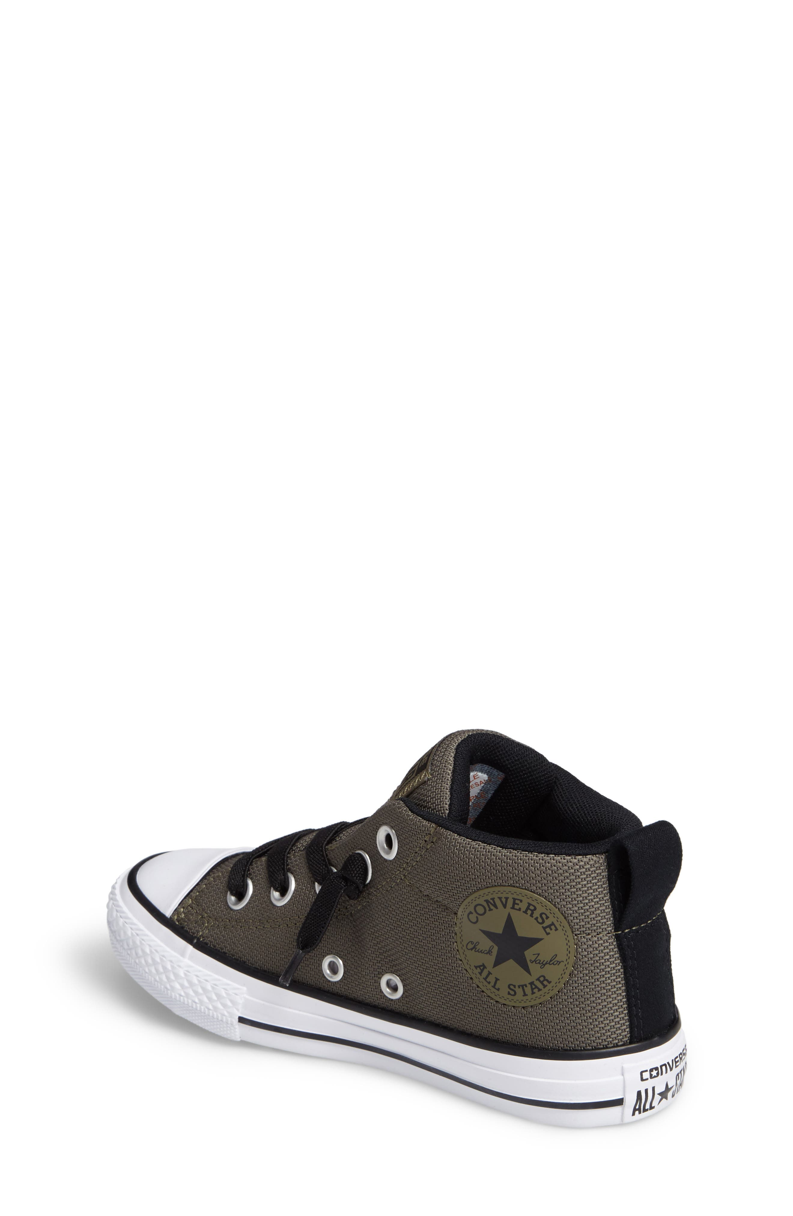 Alternate Image 2  - Converse Chuck Taylor® All Star® Basket Weave Street Mid Sneaker (Toddler, Little Kid & Big Kid)