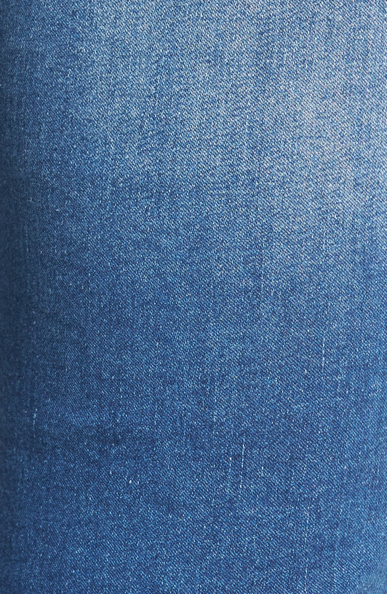 Alternate Image 5  - Mavi Jeans Kendra High Waist Stretch Denim Jeans (Mid Soft Shanti)