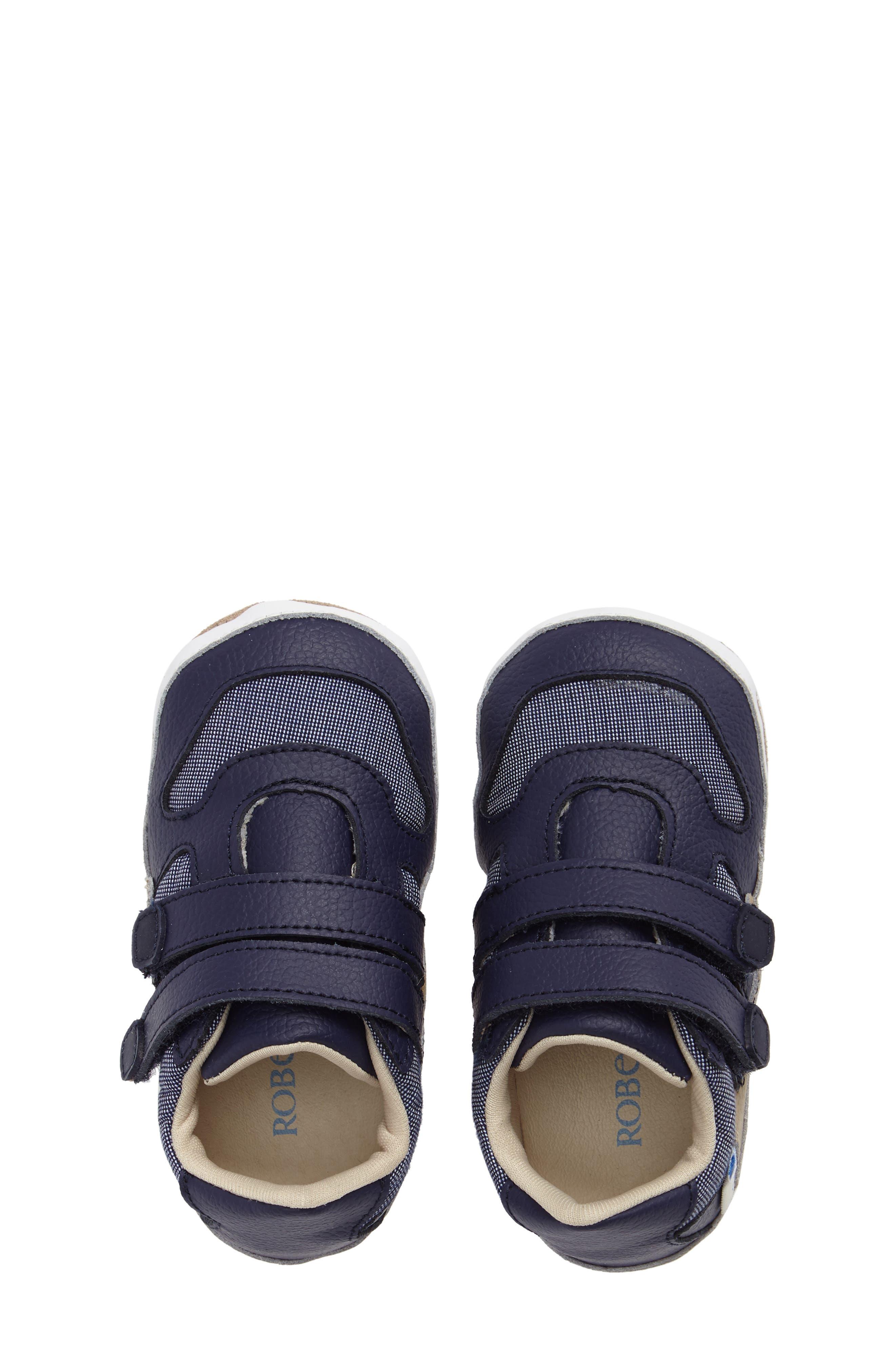 Alternate Image 5  - Robeez® Jaime Crib Shoe (Baby & Walker)