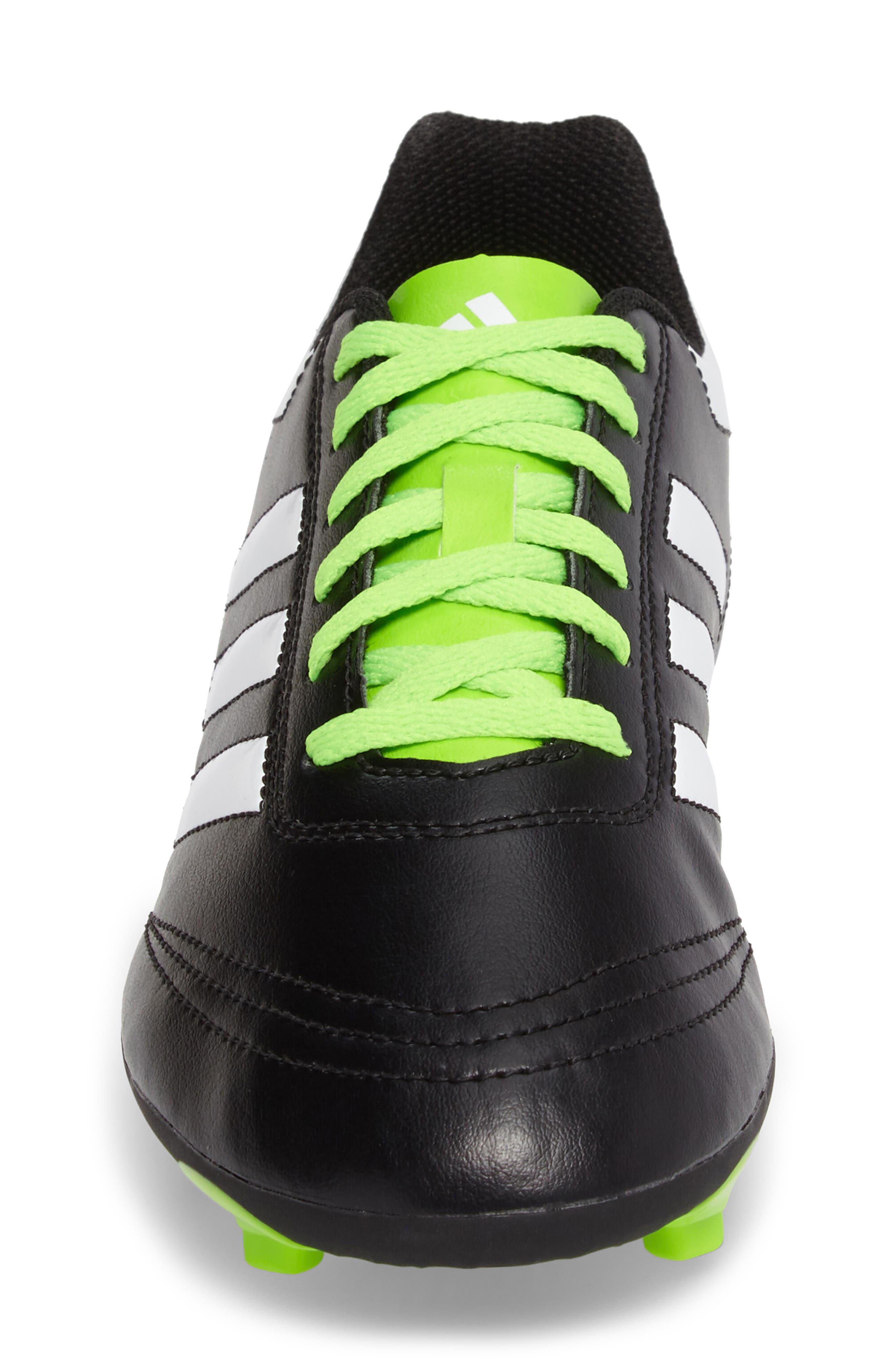 Alternate Image 4  - adidas Goletto VI Soccer Shoe (Toddler, Little Kid & Big Kid)