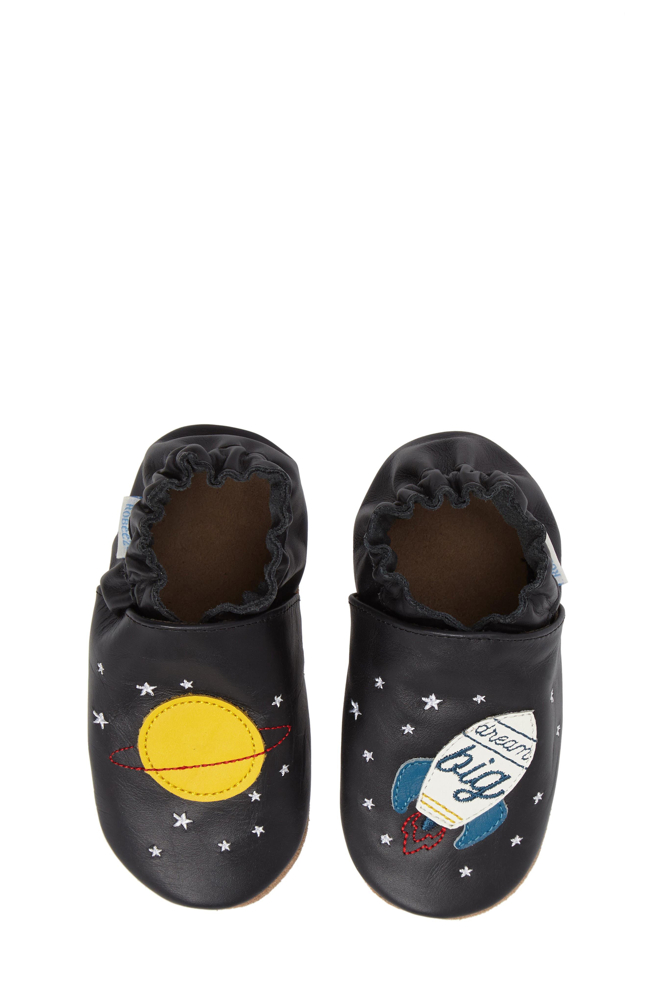 Robeez® Space Dream Crib Shoe (Baby)