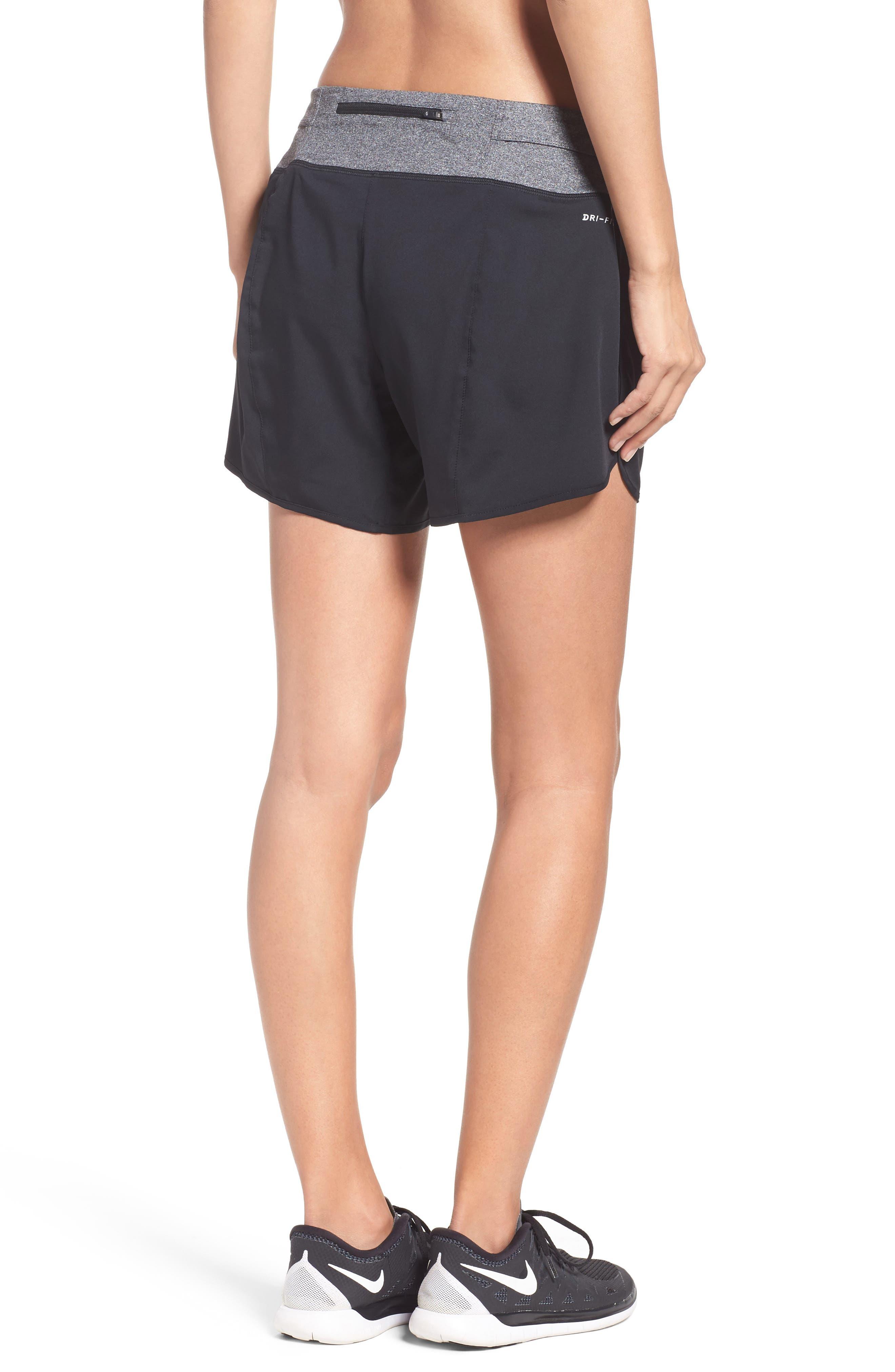 Flex Running Shorts,                             Alternate thumbnail 2, color,                             Black