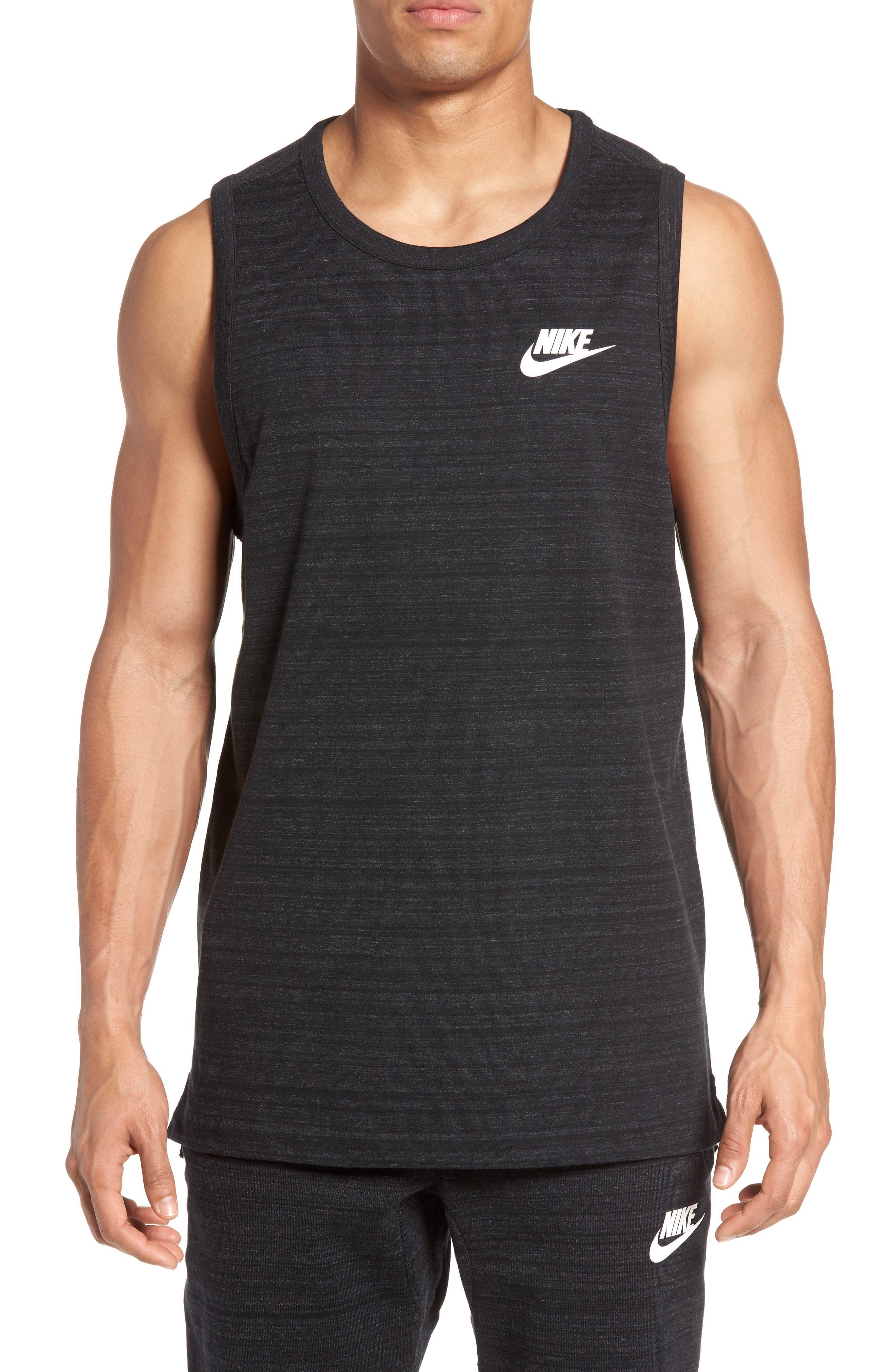 Main Image - Nike Mesh Back Training Tank