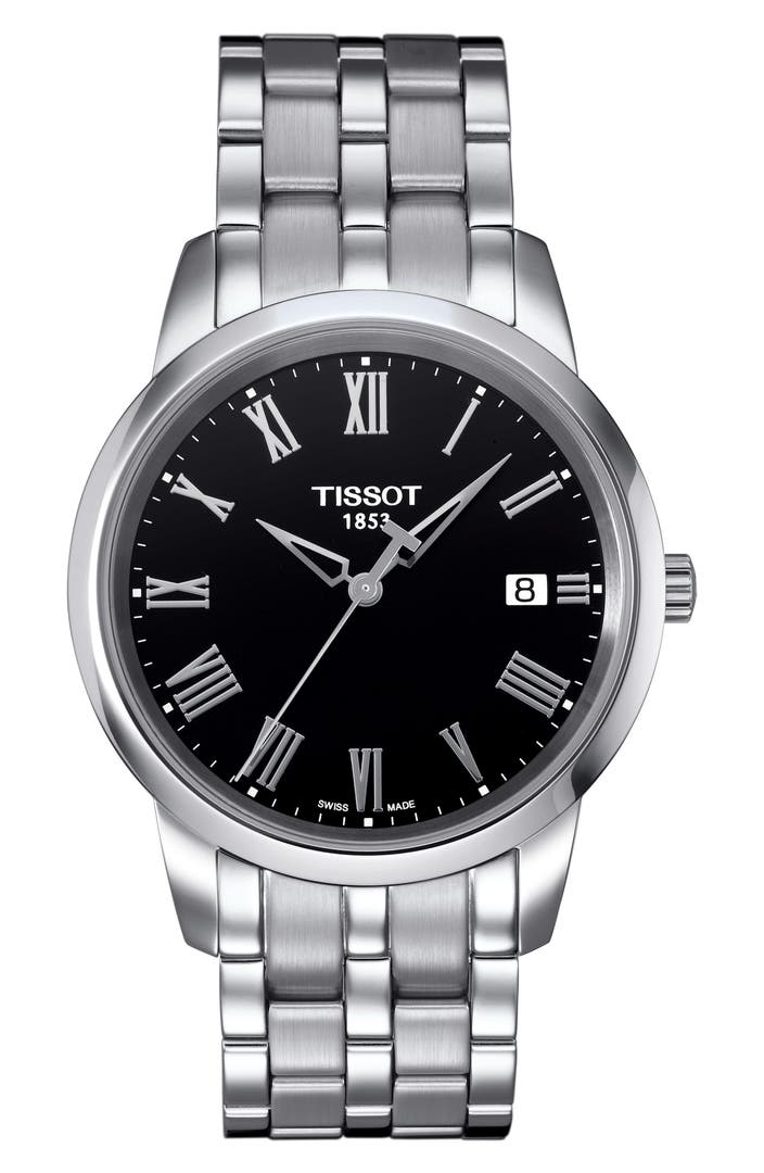 tissot classic dream bracelet watch 38mm nordstrom. Black Bedroom Furniture Sets. Home Design Ideas