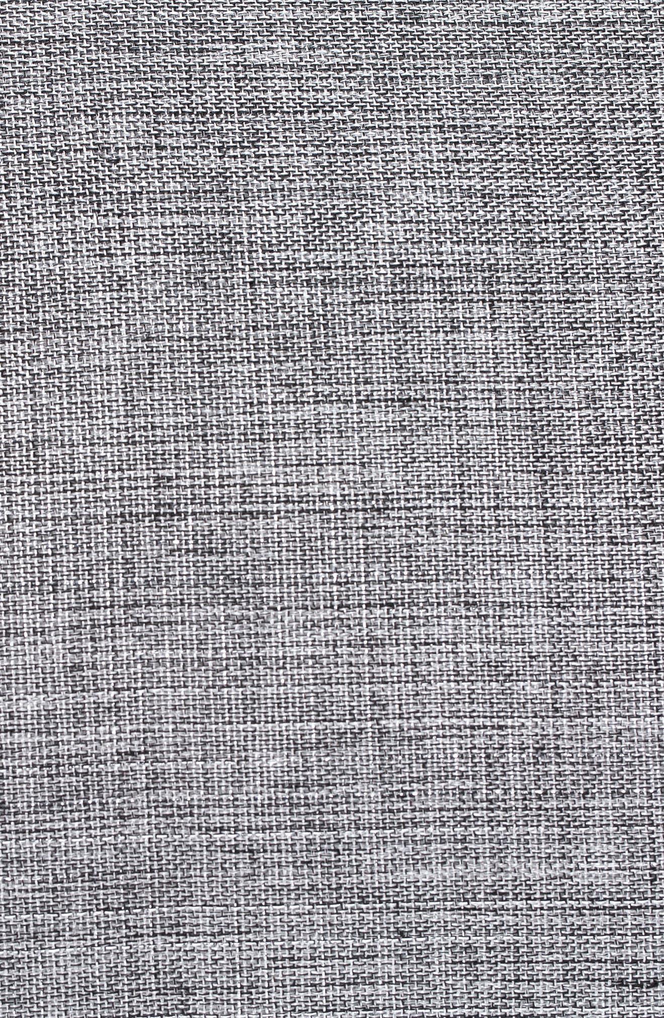 Glam Rosie Diaper Bag,                             Alternate thumbnail 6, color,                             Anthracite Glitter