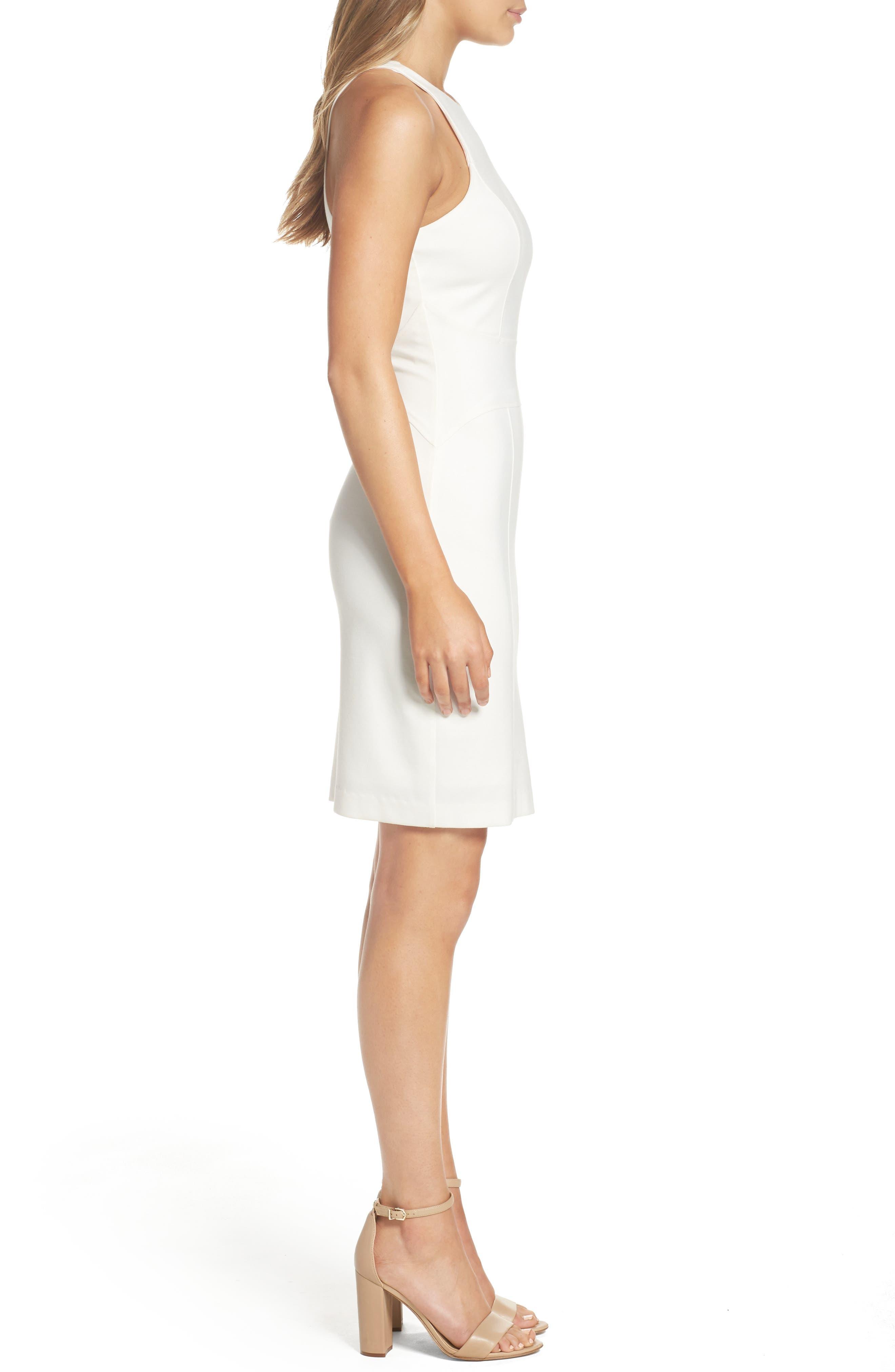 You Ruin Me Body-Con Dress,                             Alternate thumbnail 4, color,                             White