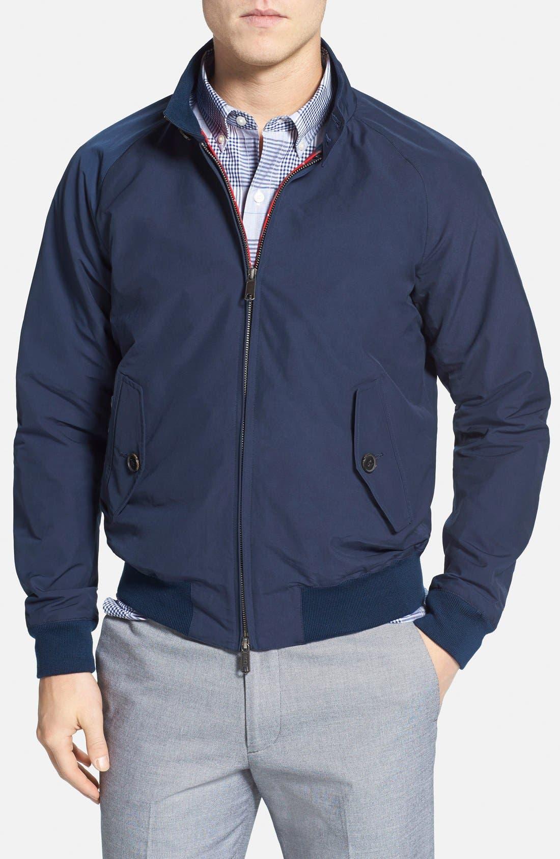 Main Image - Baracuta G9 Water Repellent Harrington Jacket