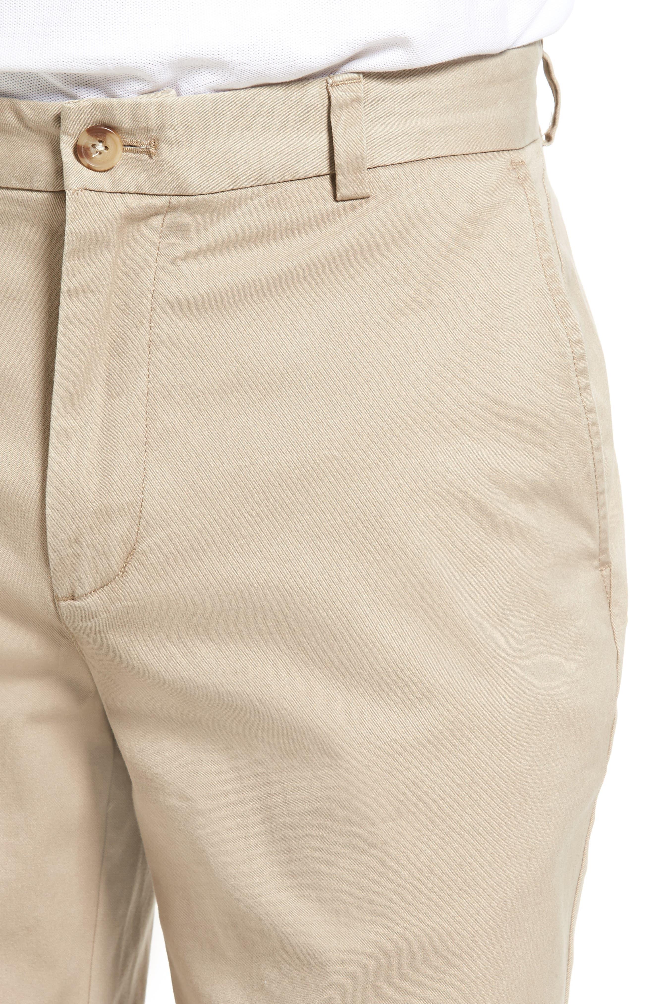 9 Inch Stretch Breaker Shorts,                             Alternate thumbnail 4, color,                             Khaki