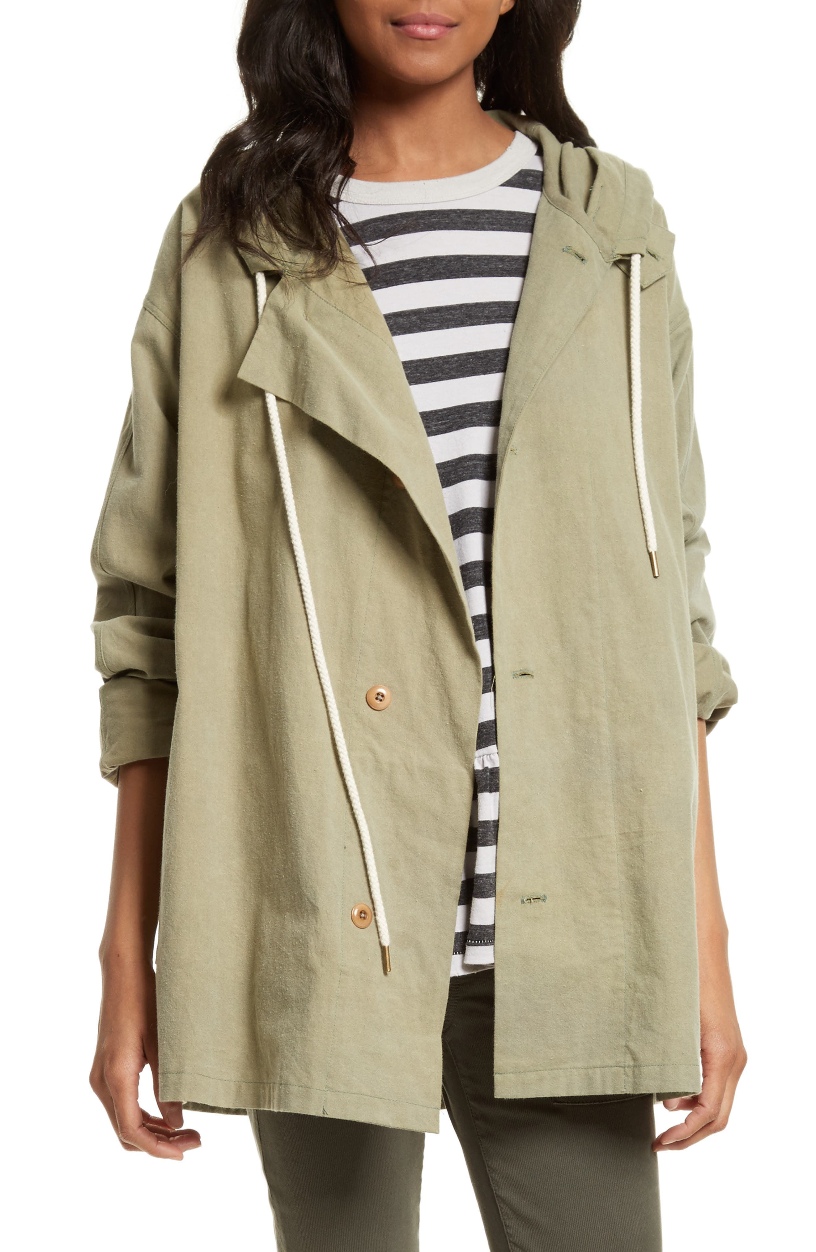 The Parka Jacket,                         Main,                         color, Pale Army