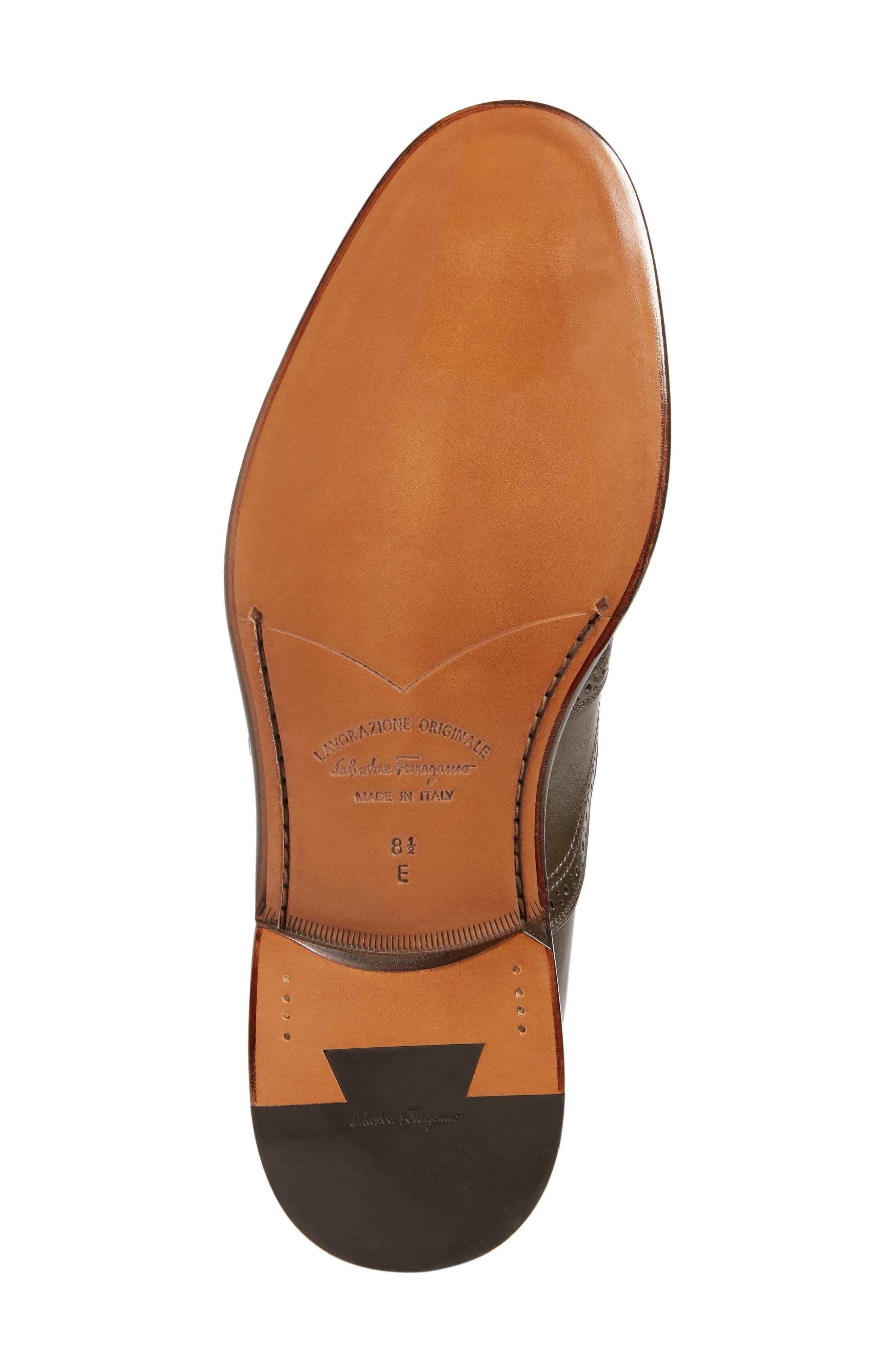 Alternate Image 6  - Salvatore Ferragamo Monk Strap Shoe (Men)