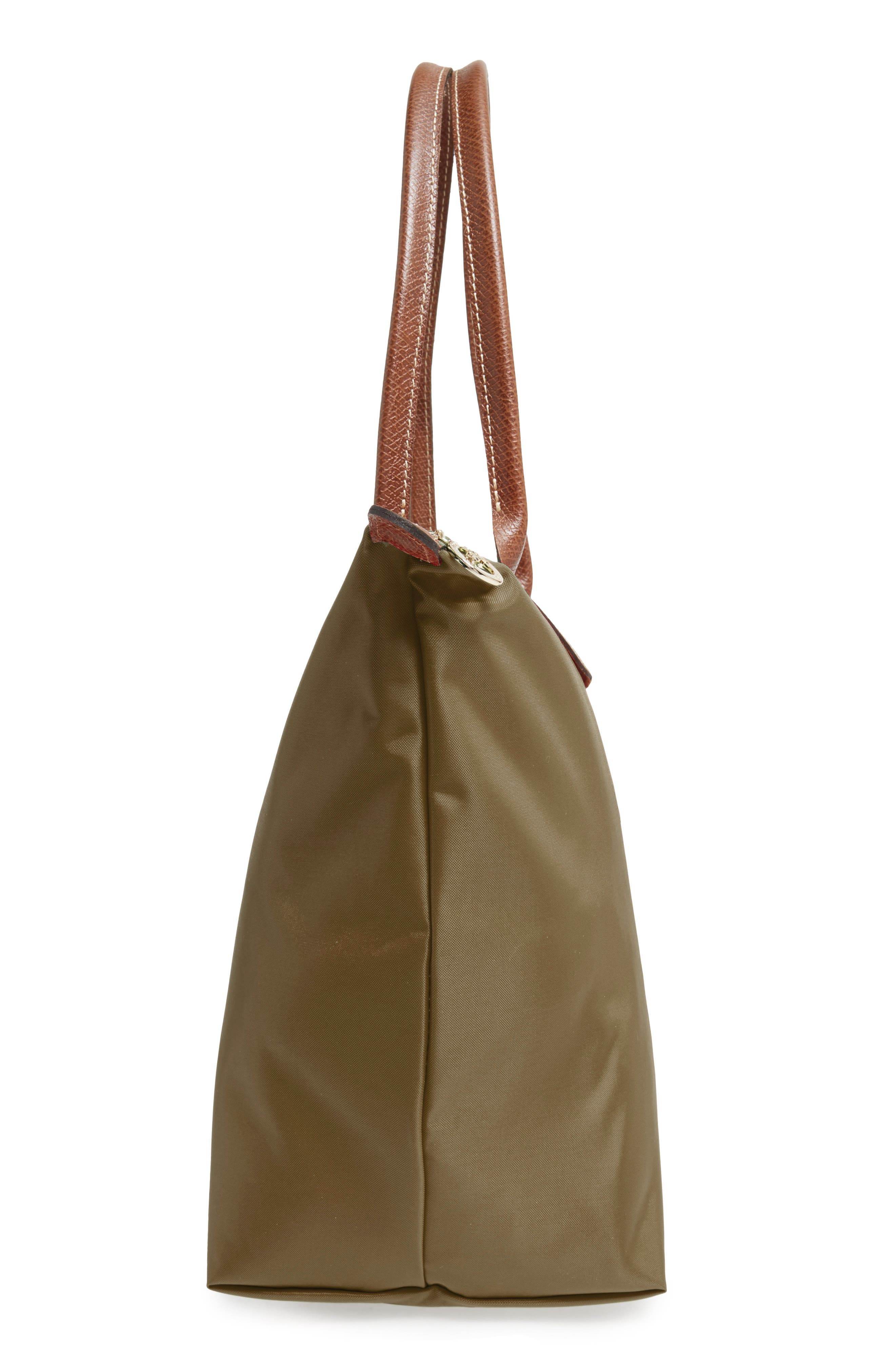 'Large Le Pliage' Tote,                             Alternate thumbnail 4, color,                             New Khaki