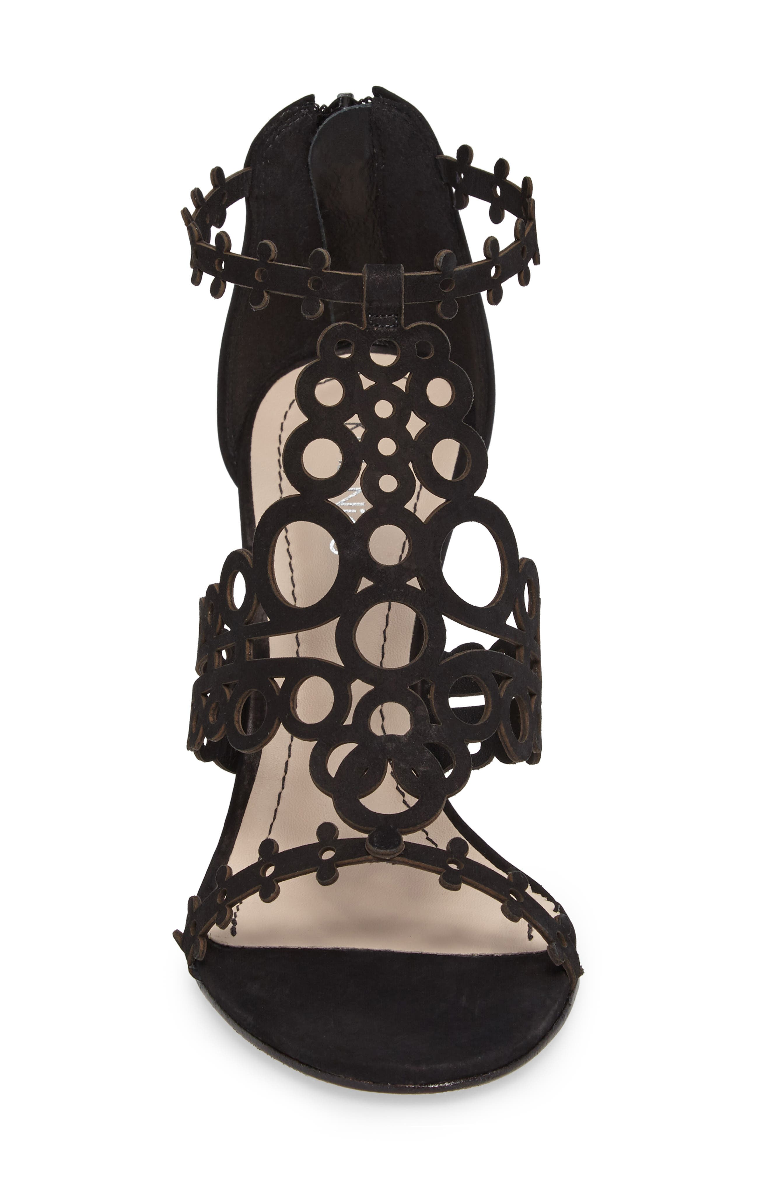 Alternate Image 4  - Klub Nico 'Antonia' Laser Cut T-Strap Sandal (Women)