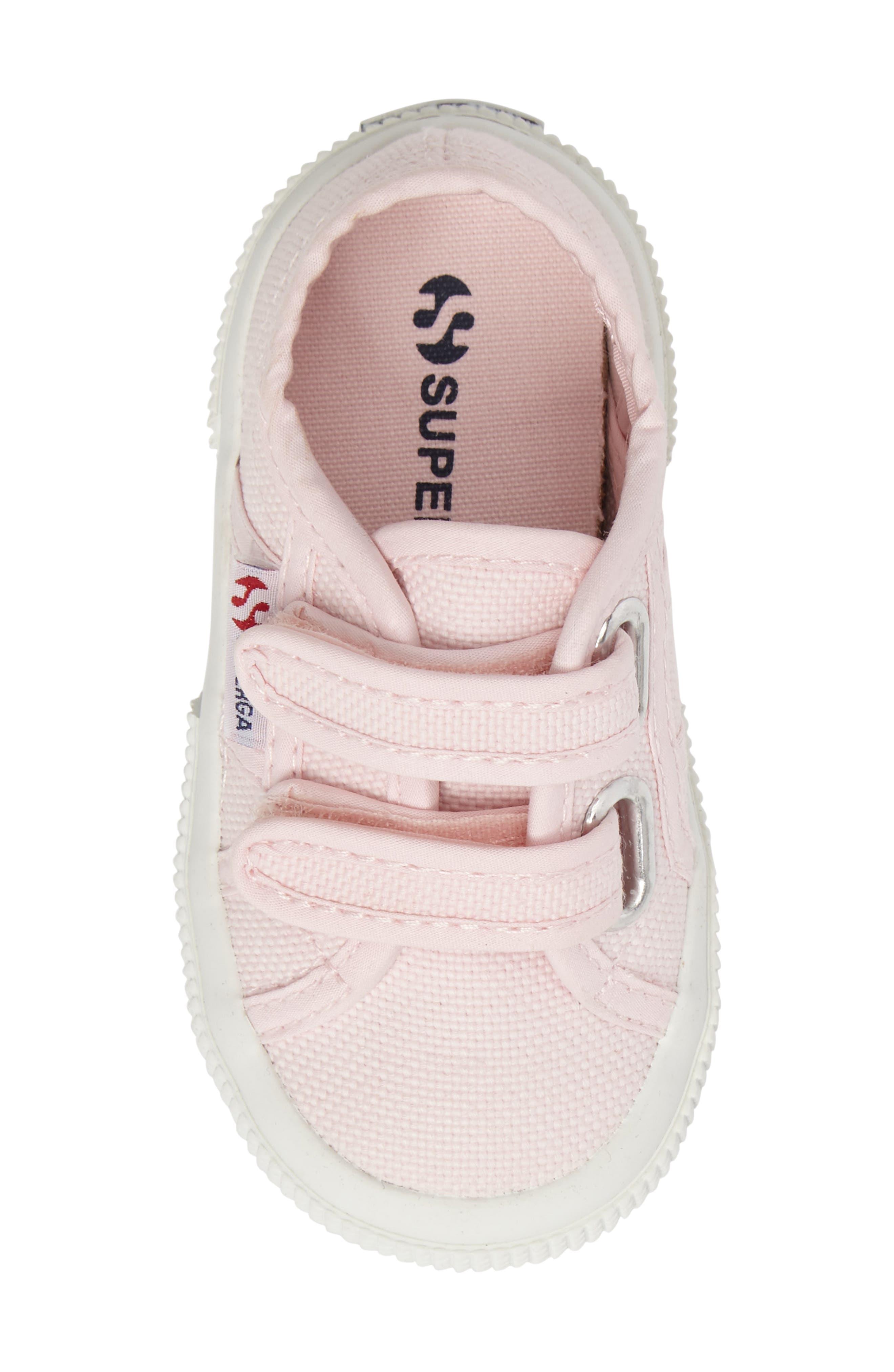 'Junior Classic' Sneaker,                             Alternate thumbnail 5, color,                             Pink